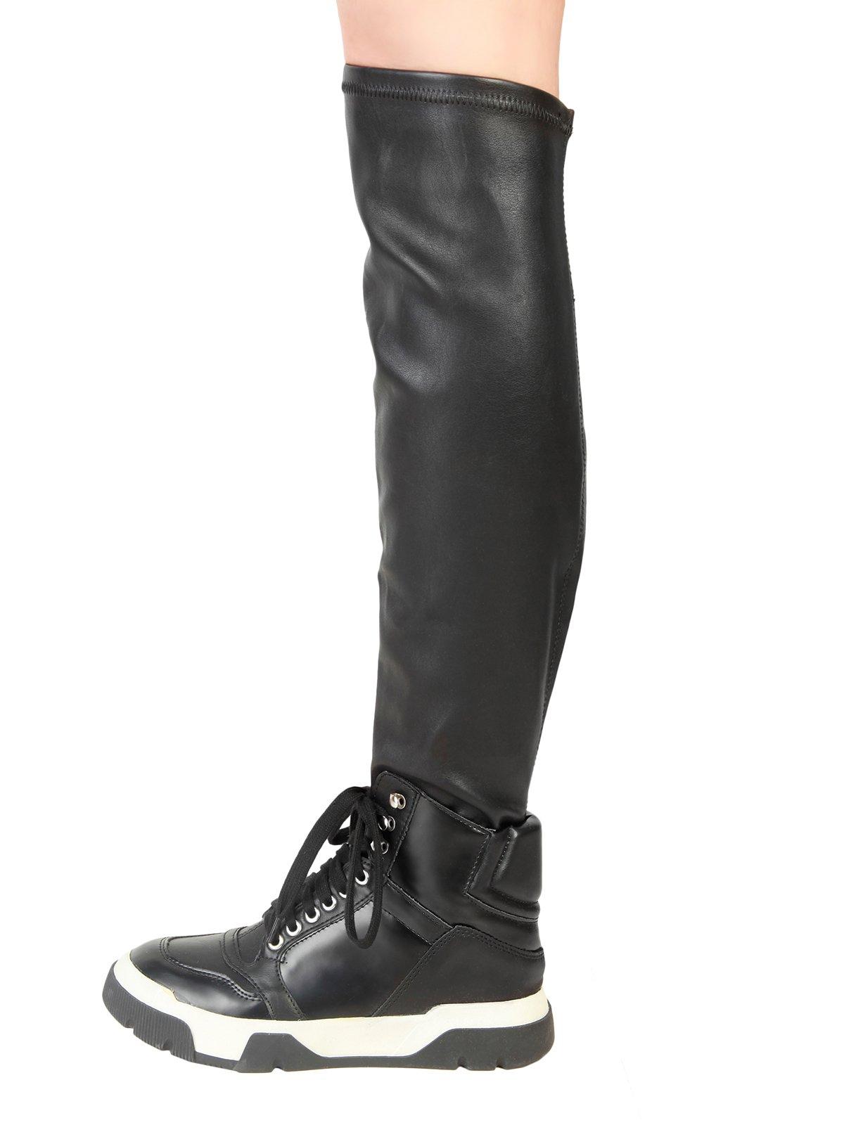 Кросівки-чоботи чорні | 3837713