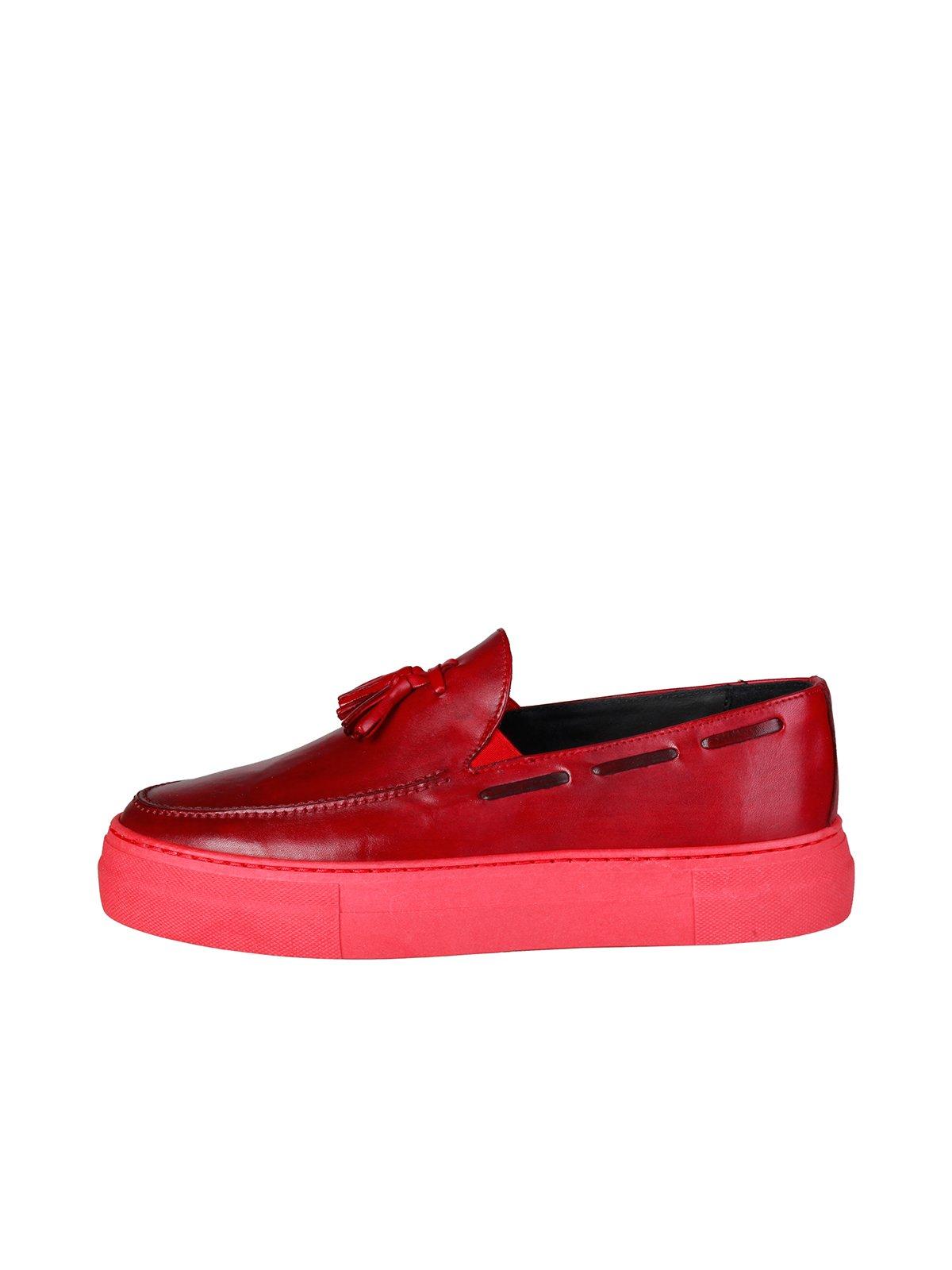 Лоферы красные | 3931449