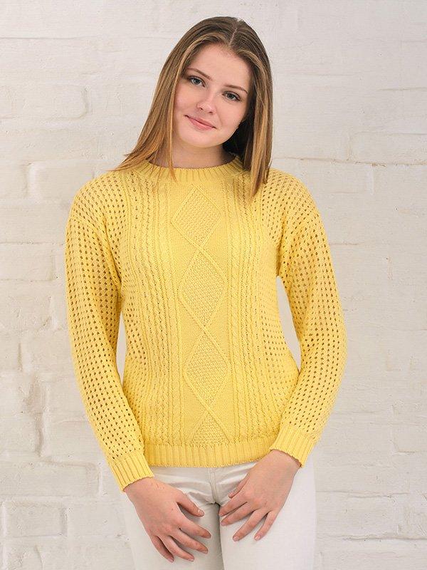 Джемпер жовтий   3892348   фото 3