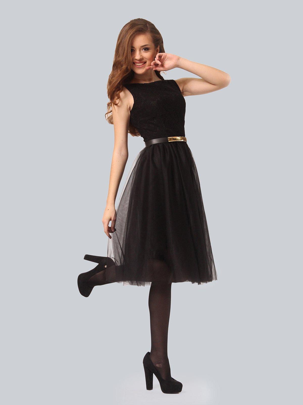 Платье черное | 3939870 | фото 2
