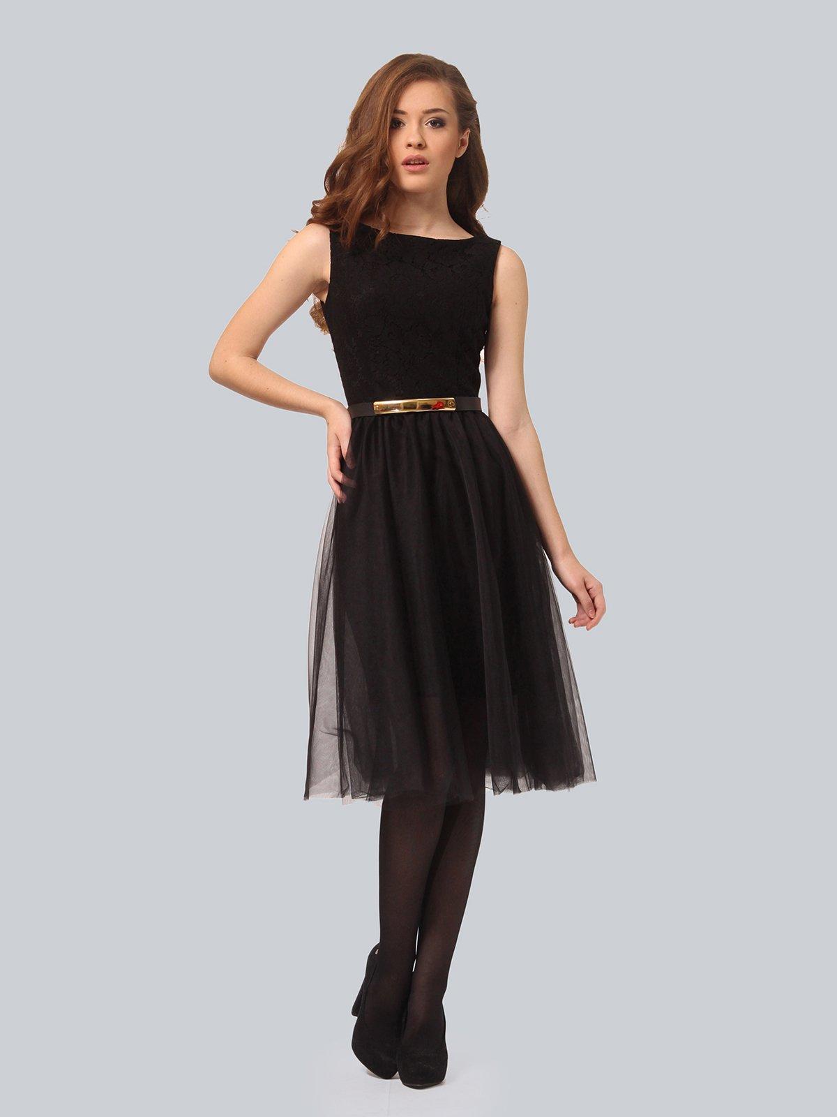 Платье черное | 3939870 | фото 3