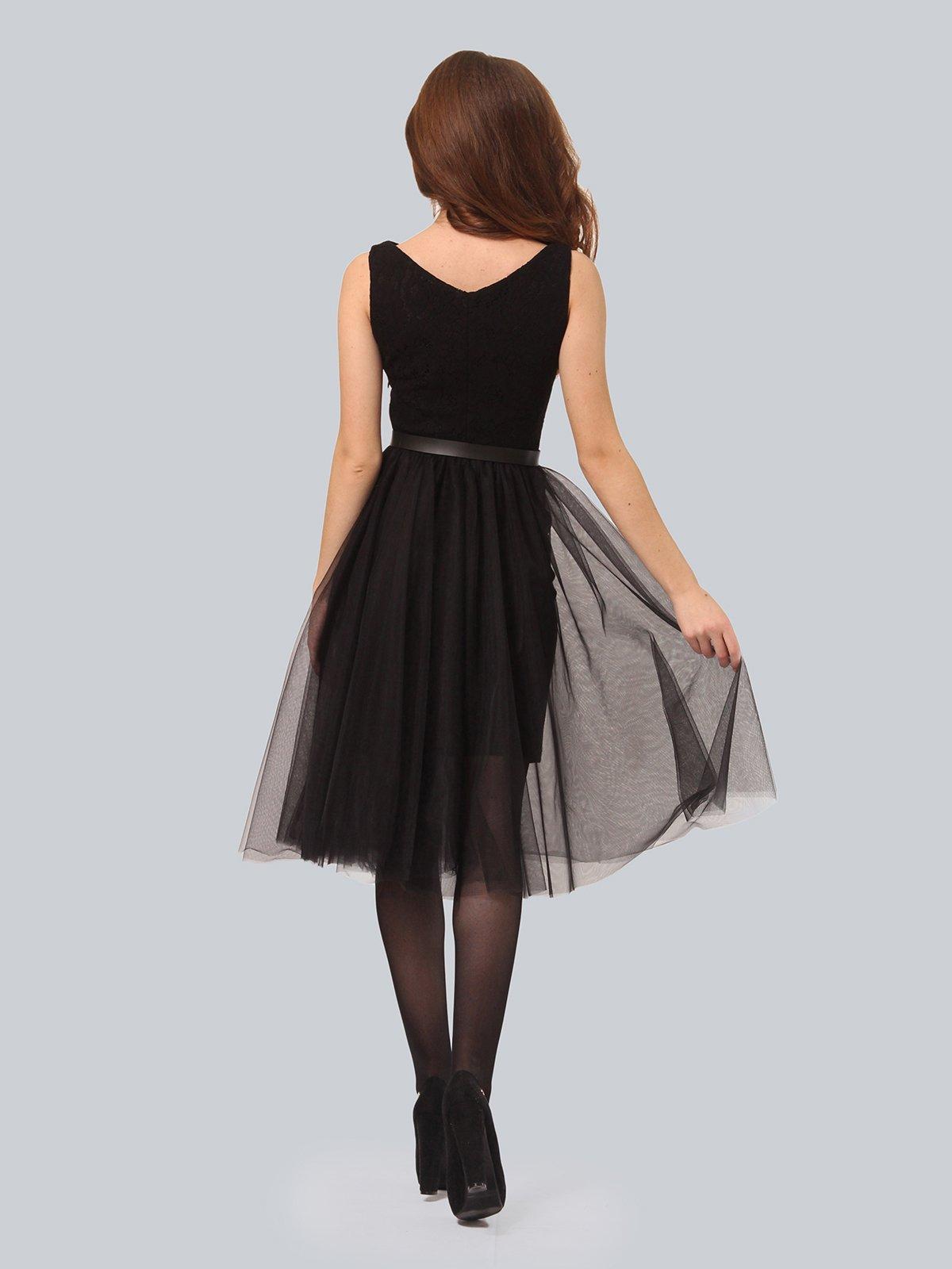 Платье черное | 3939870 | фото 4