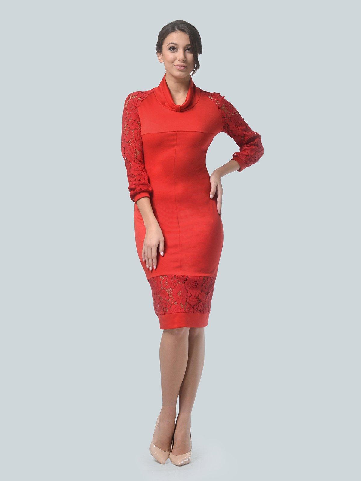 Платье красное   3939903   фото 2