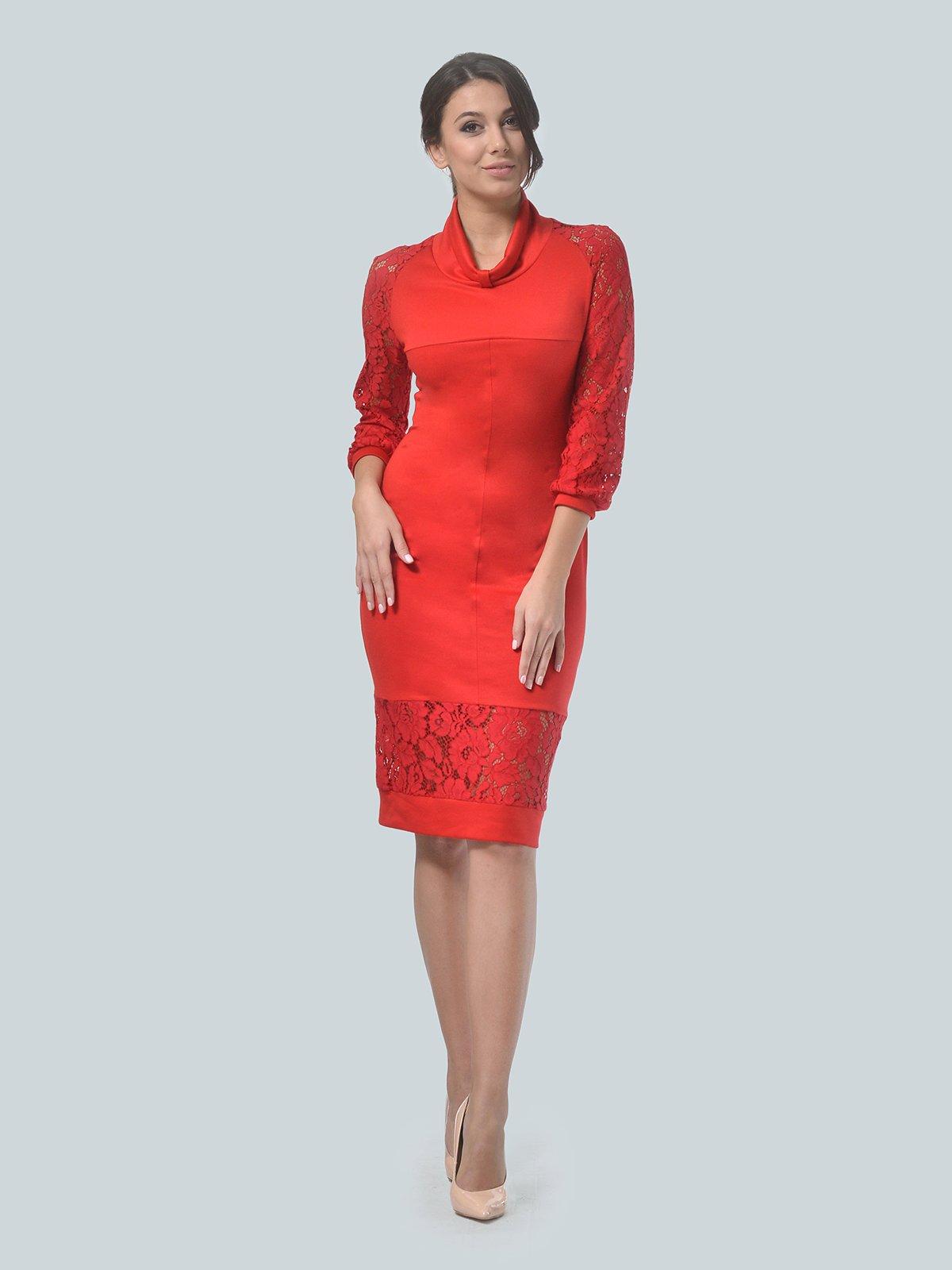 Платье красное   3939903   фото 3