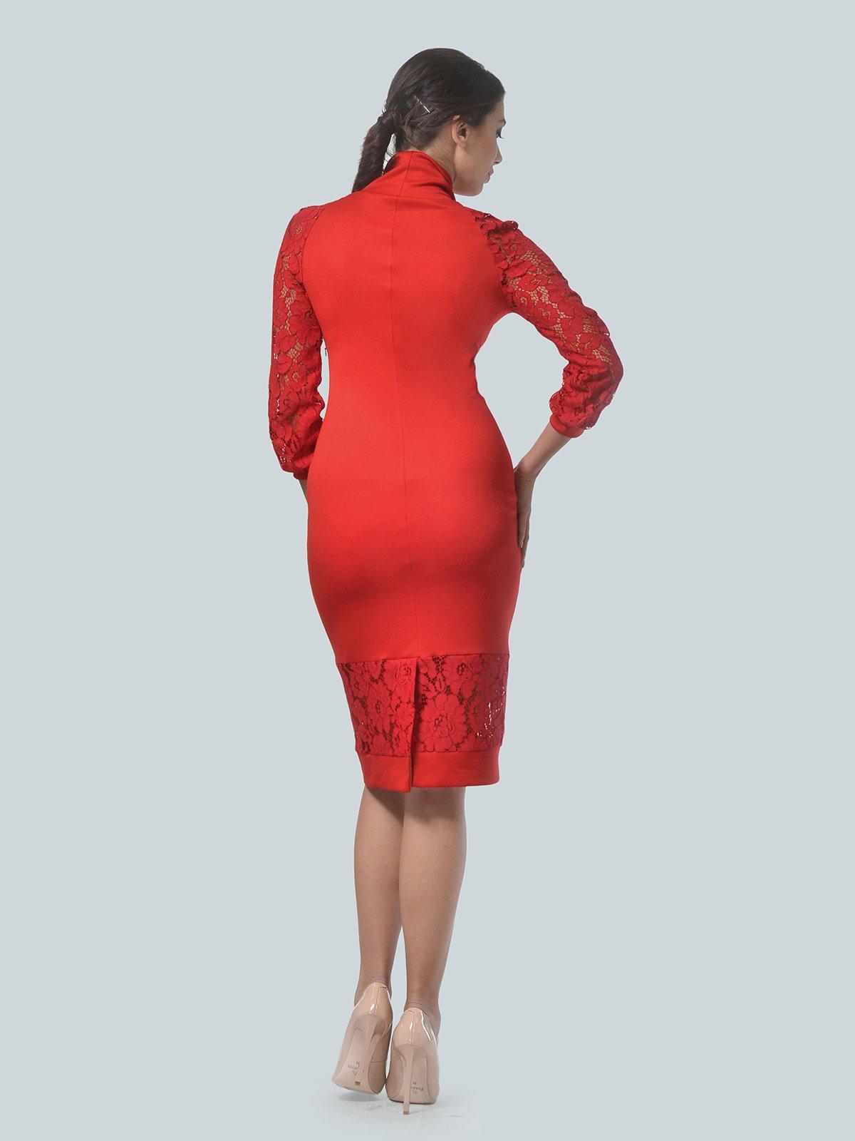 Платье красное   3939903   фото 5