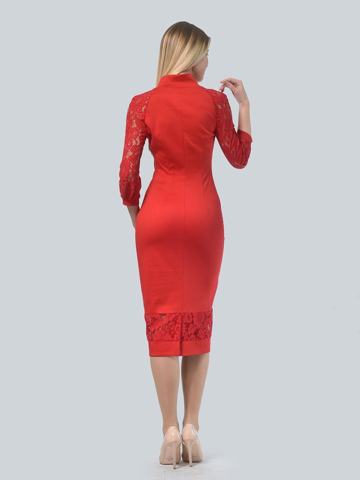 Платье красное | 3939906 | фото 3