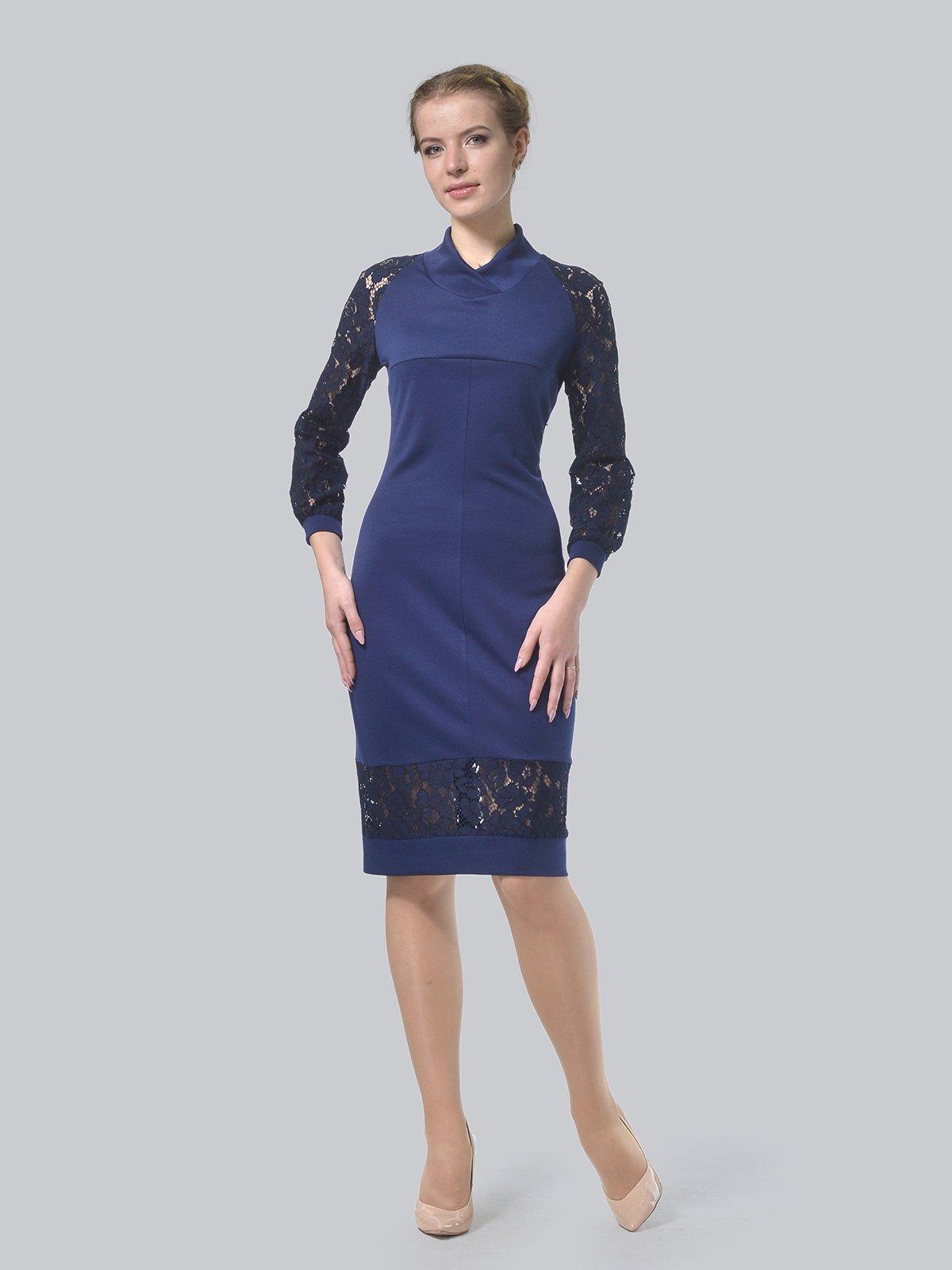 Платье темно-синее   3939904
