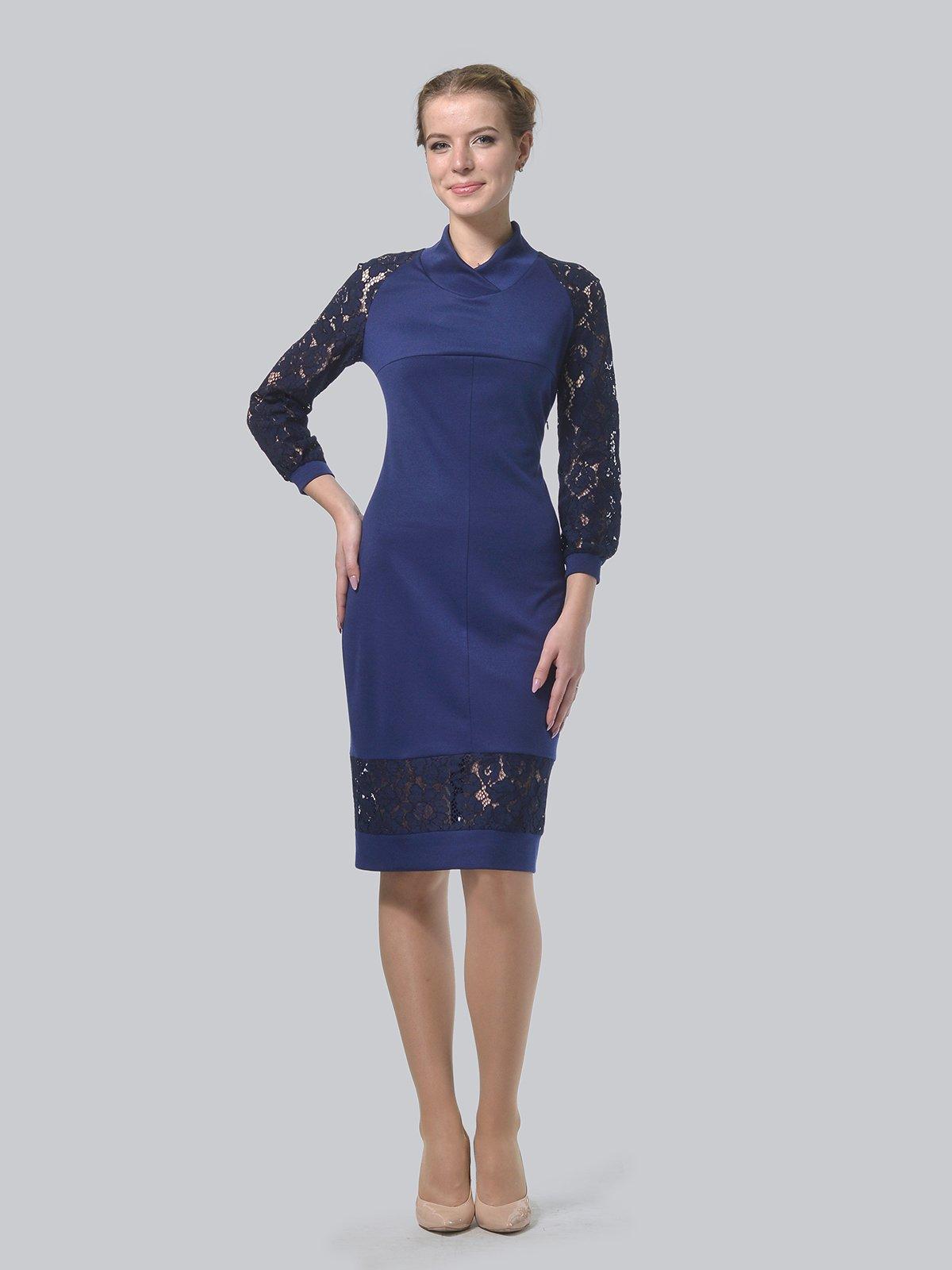 Платье темно-синее   3939904   фото 2