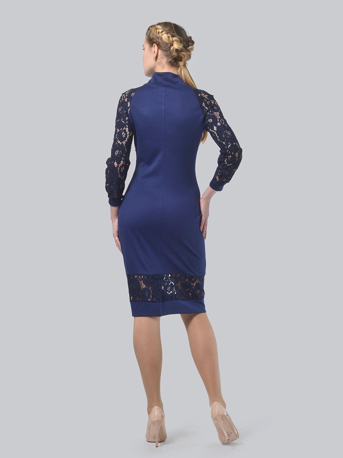 Платье темно-синее   3939904   фото 3
