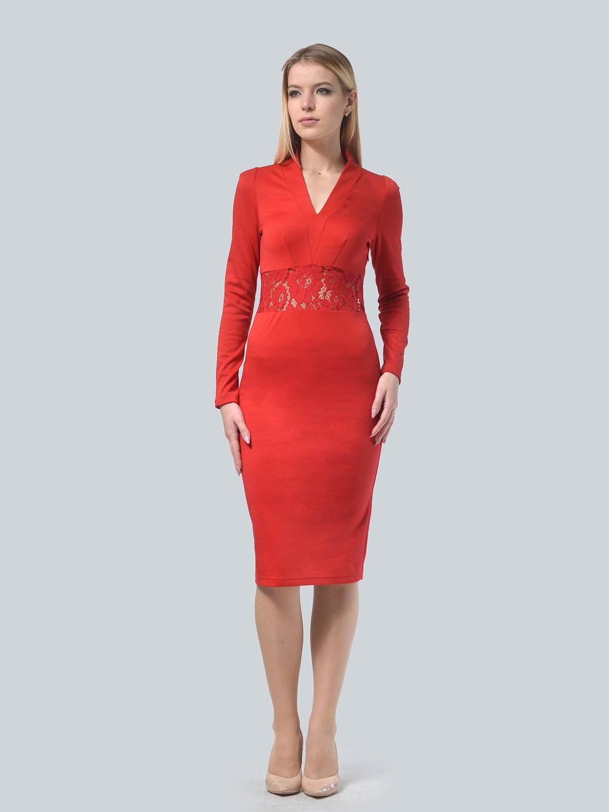Платье красное | 3939914