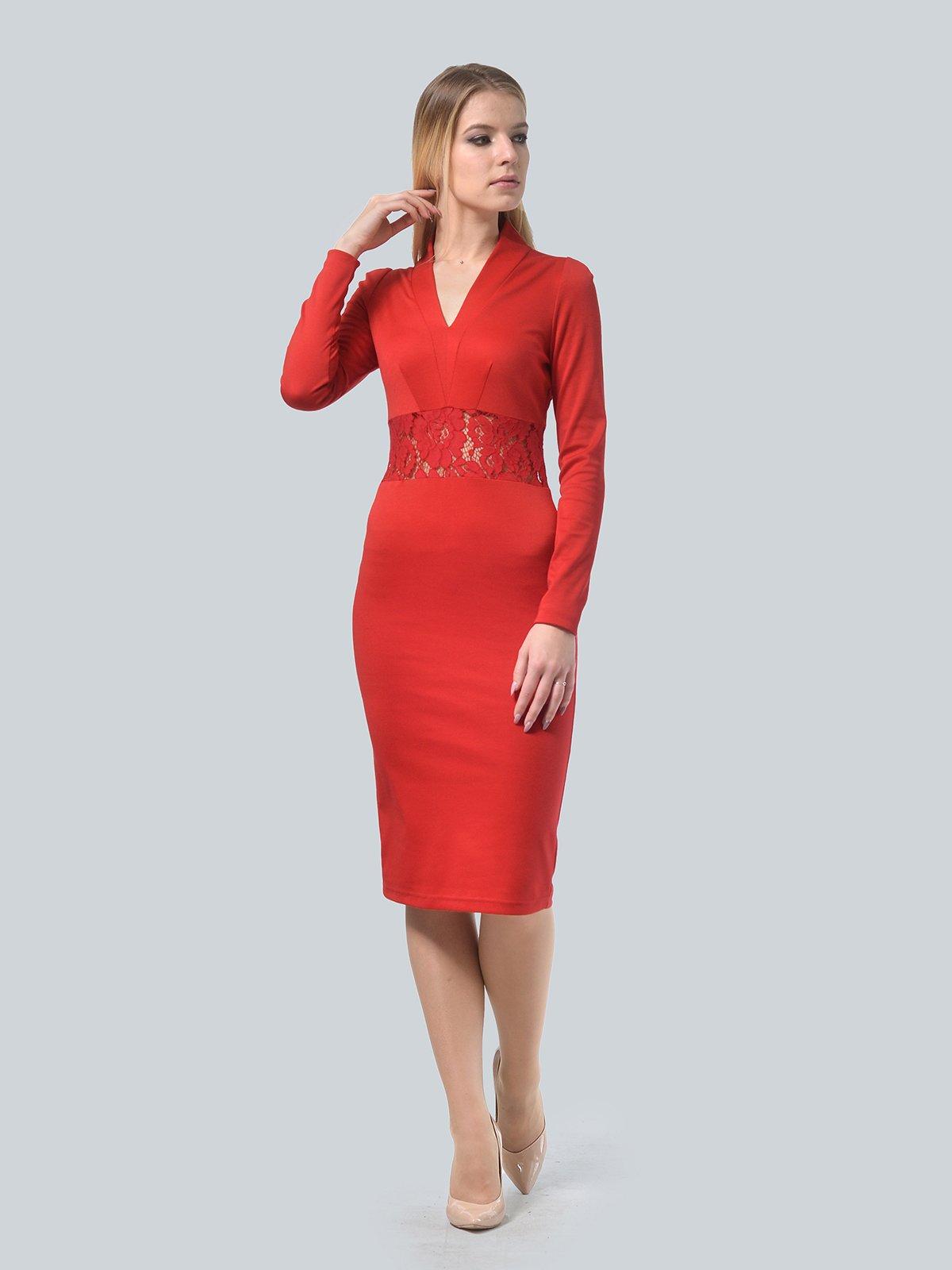 Платье красное | 3939914 | фото 2