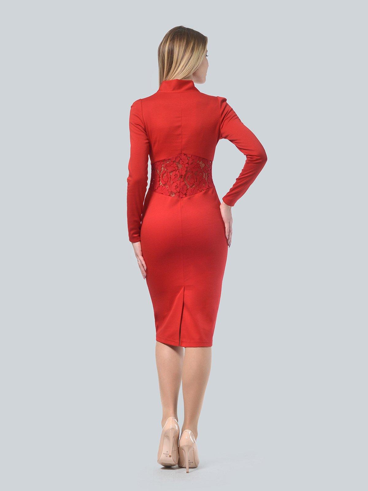 Платье красное | 3939914 | фото 3