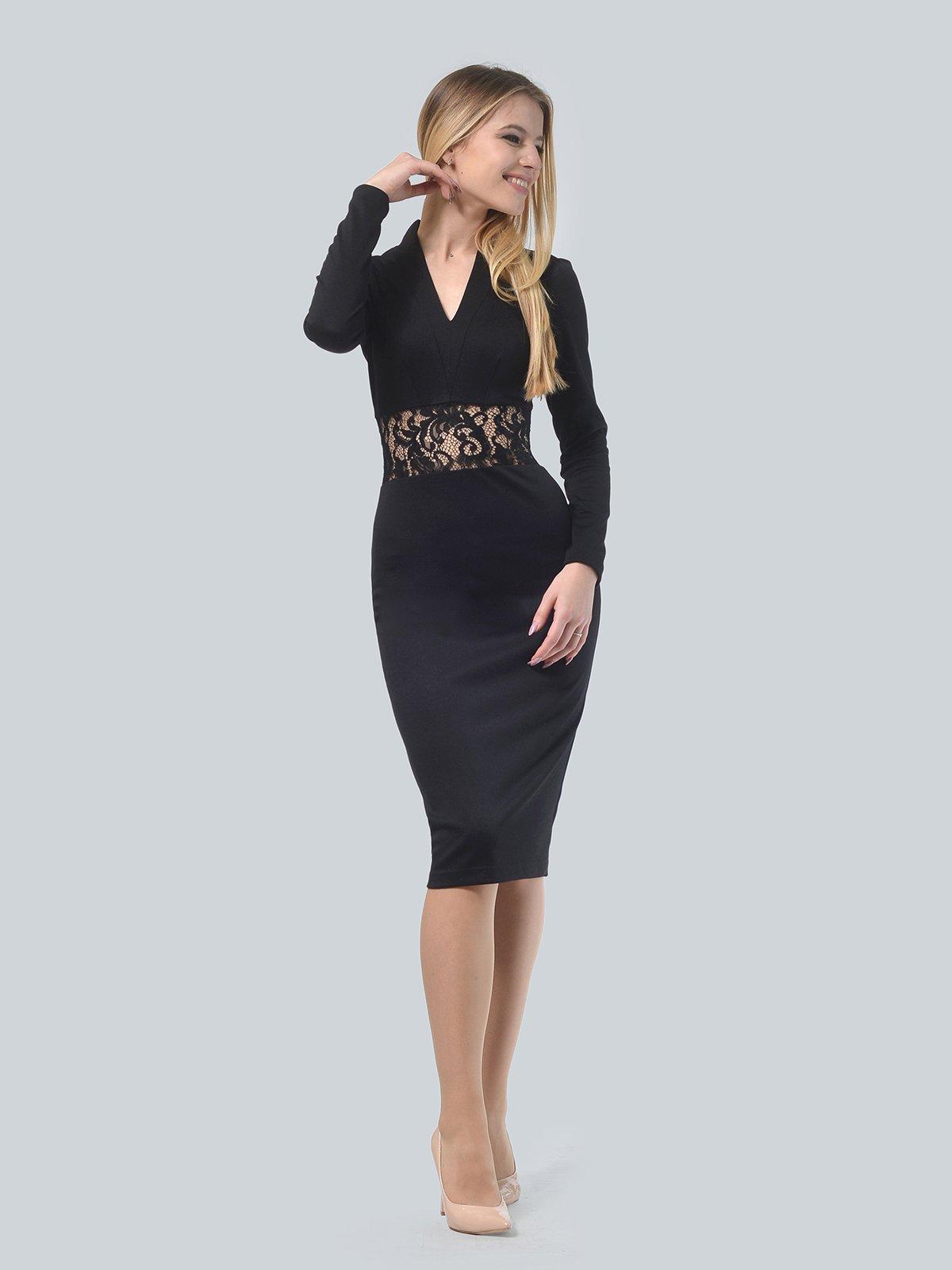 Платье черное   3939915   фото 2