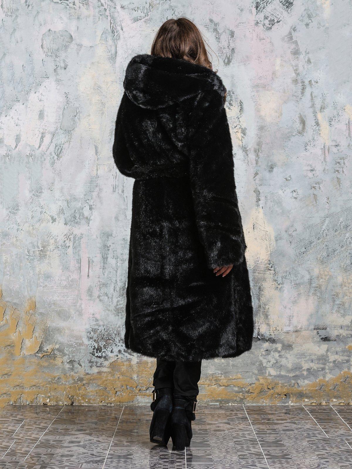 Шуба черная | 3946463 | фото 4