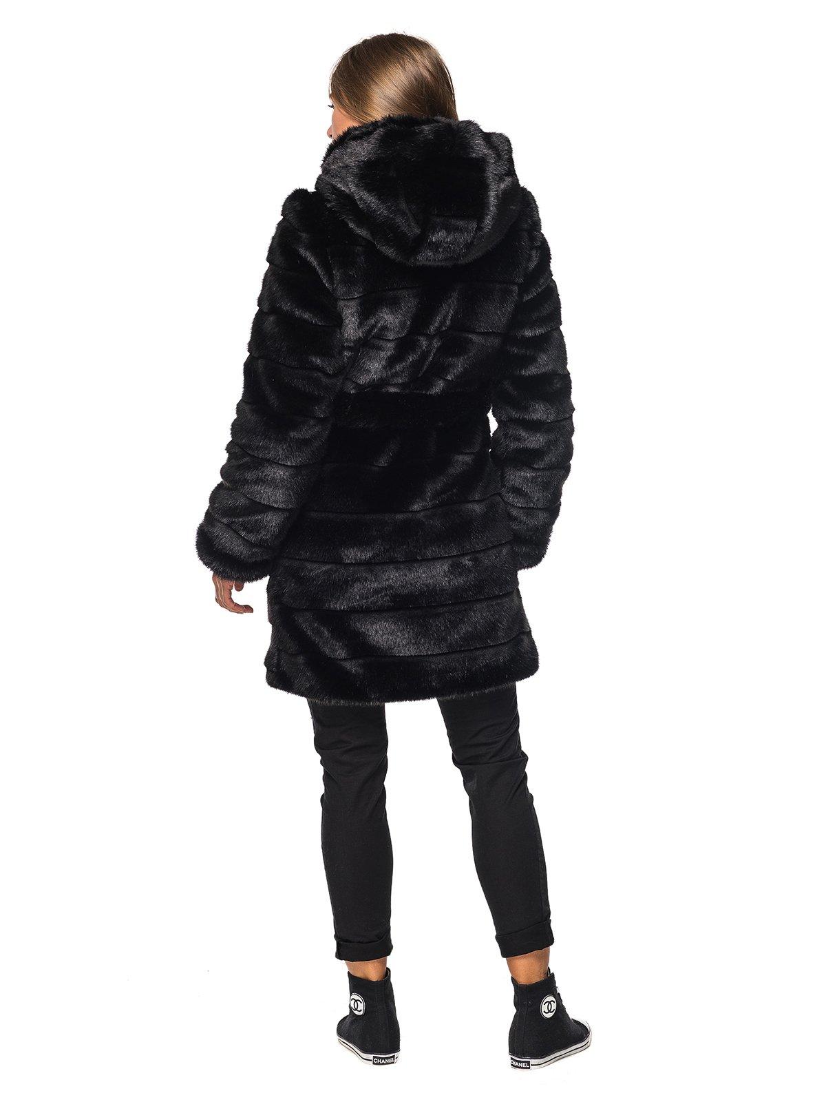 Шуба черная | 3946476 | фото 4