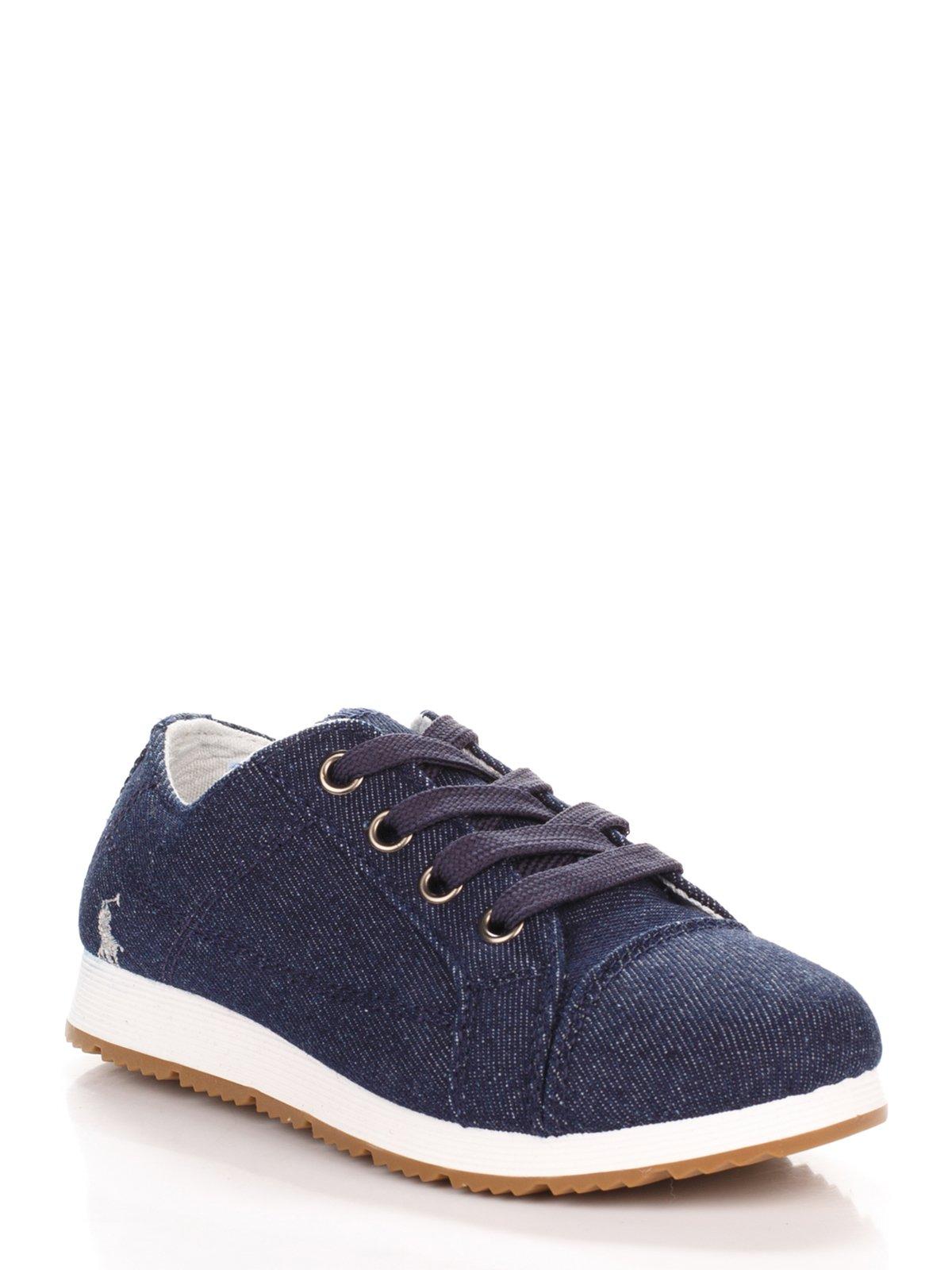 Кроссовки темно-синие | 3919473