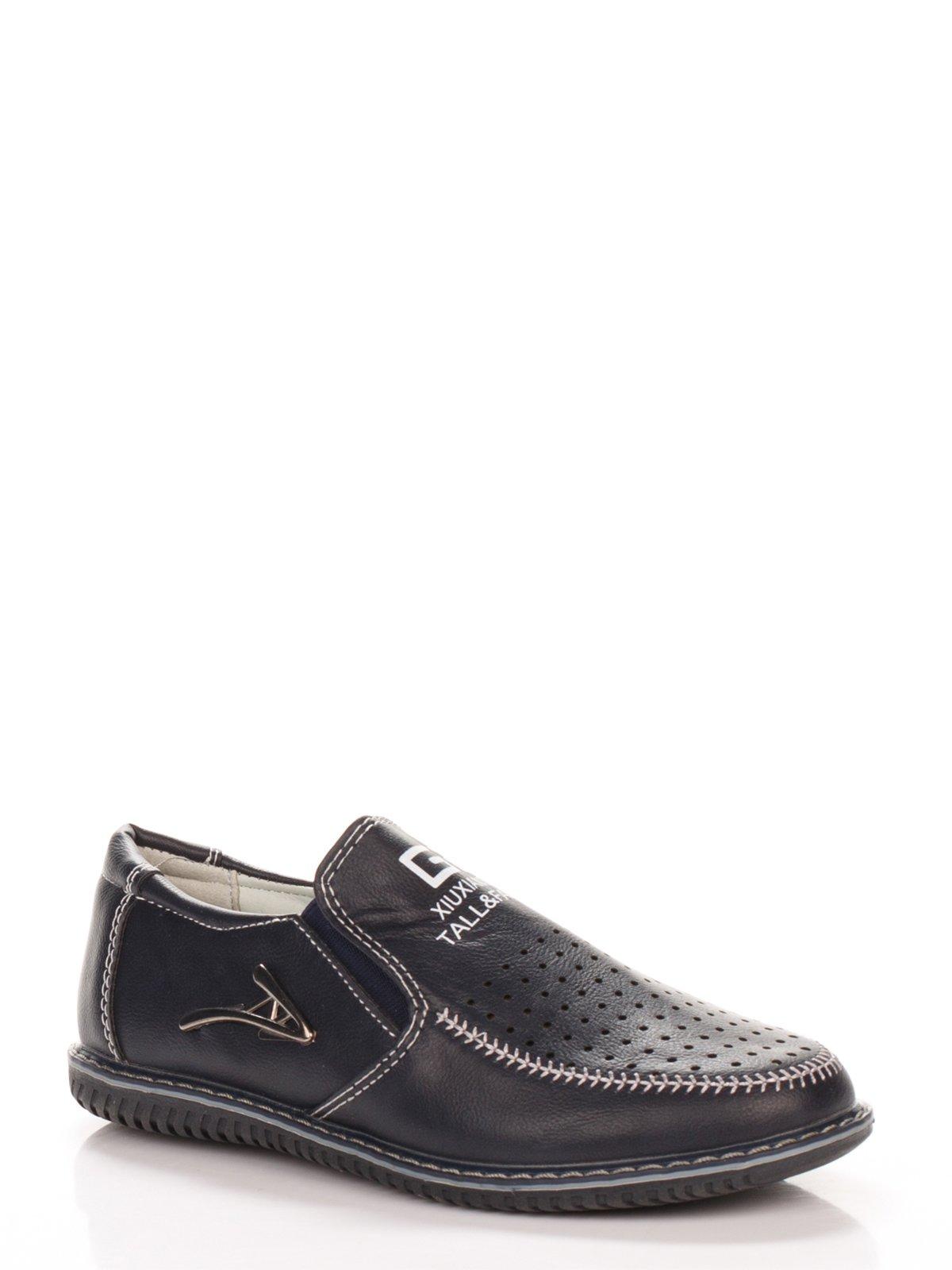 Туфли темно-синие | 3902861