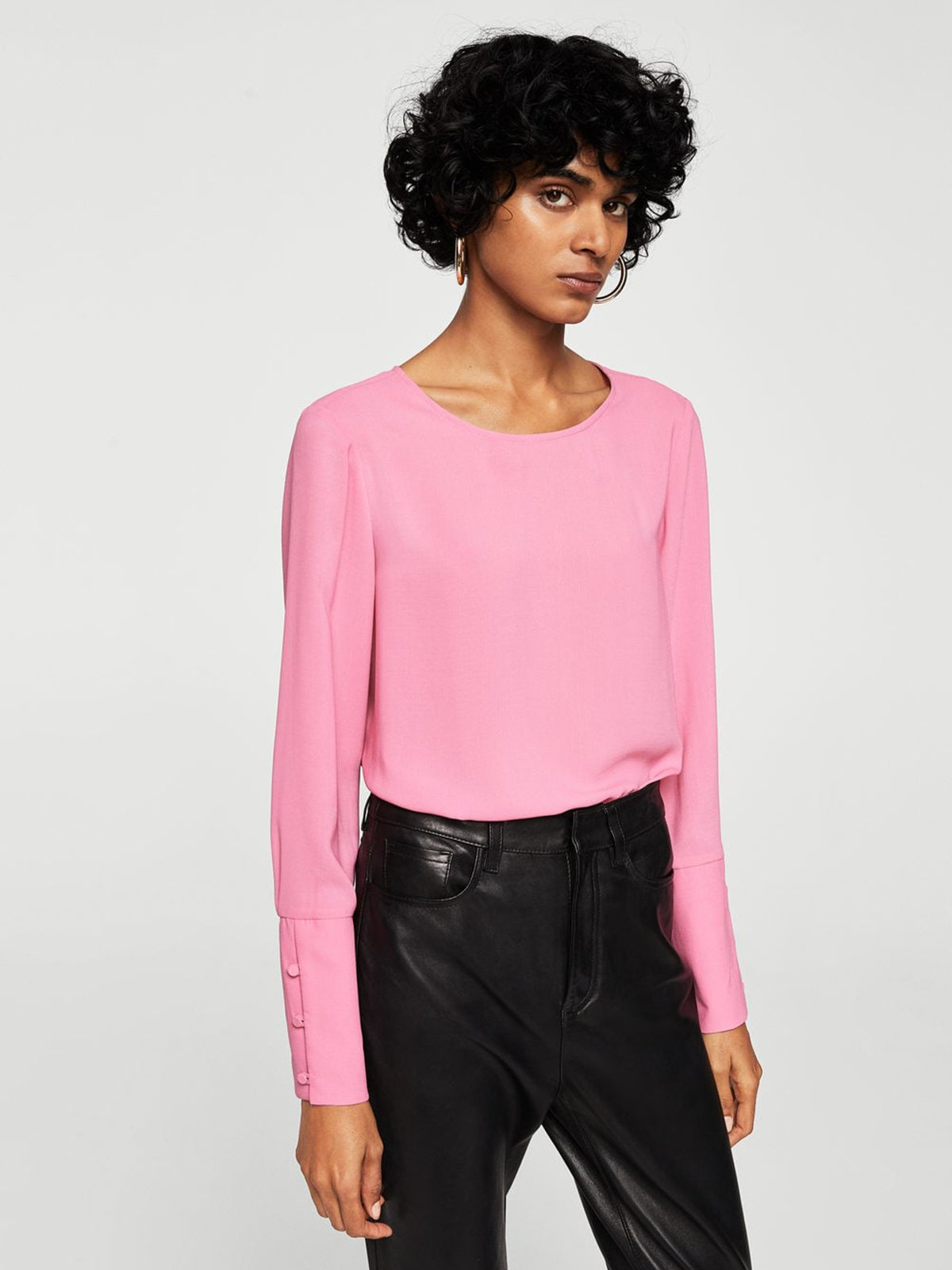 Блуза розовая | 3956930