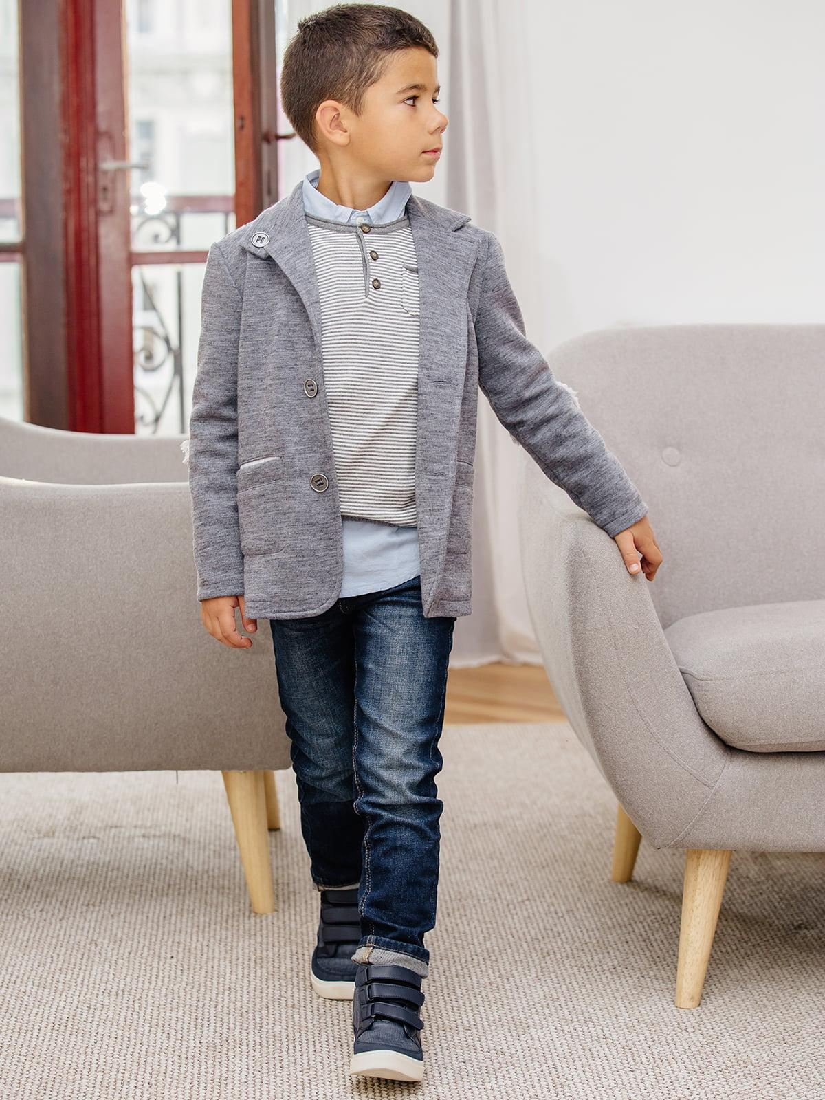 Пиджак серый | 3958945