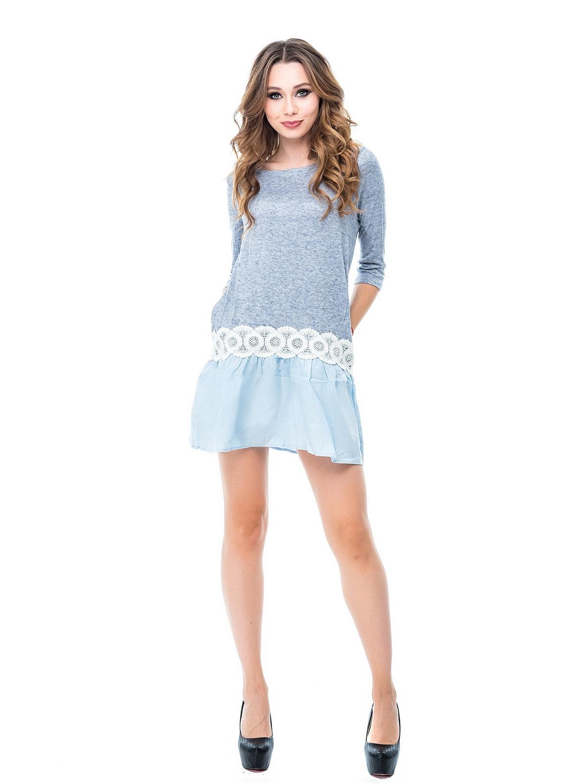 Сукня блакитна | 3958294
