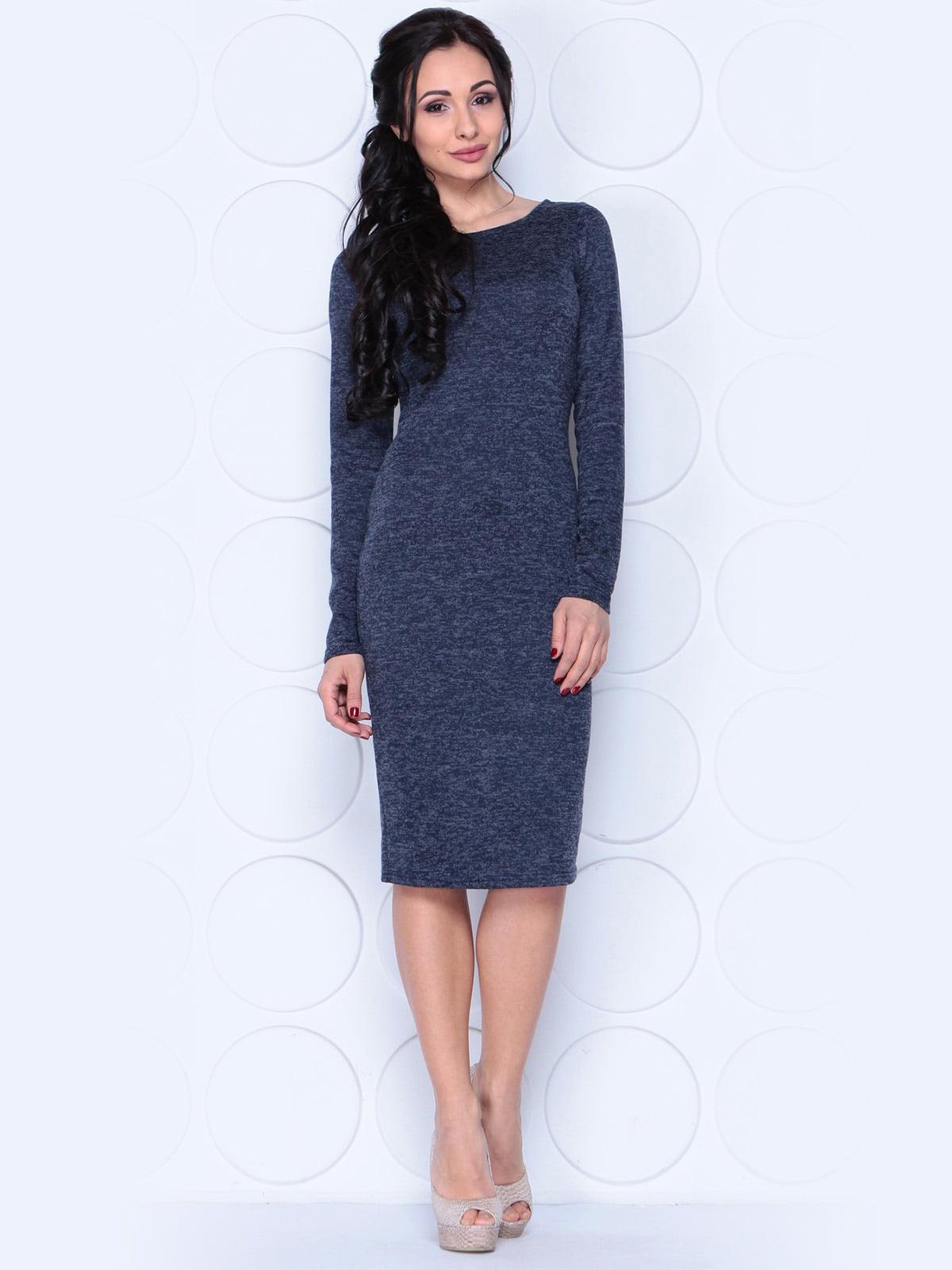 Платье темно-синее | 3959294