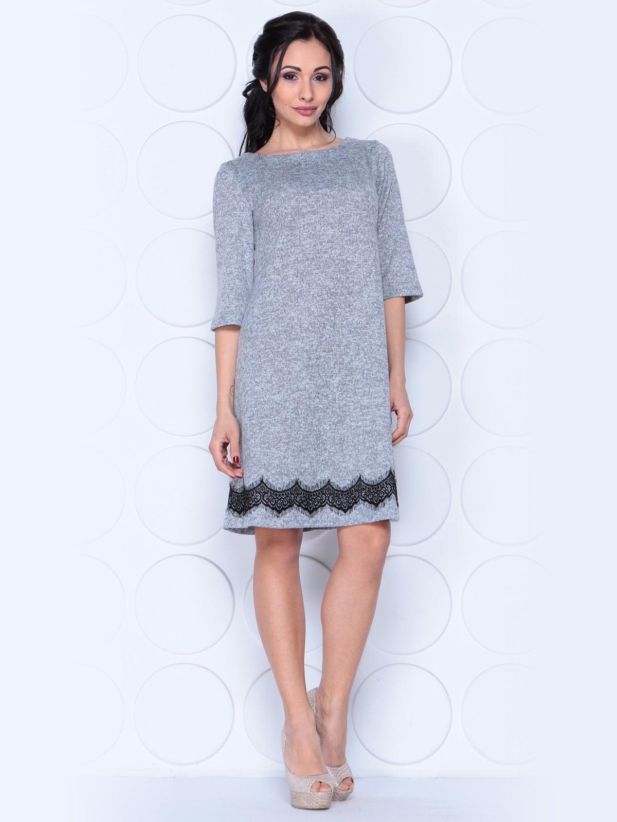 Платье серое | 3959297