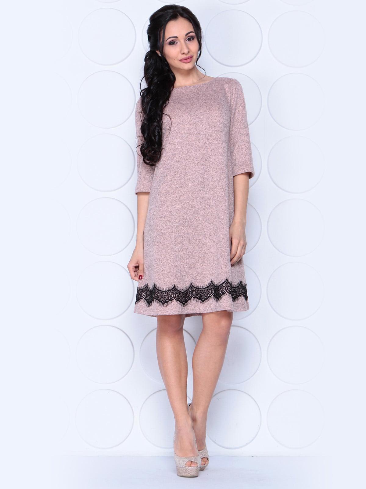 Платье бежевое | 3959298