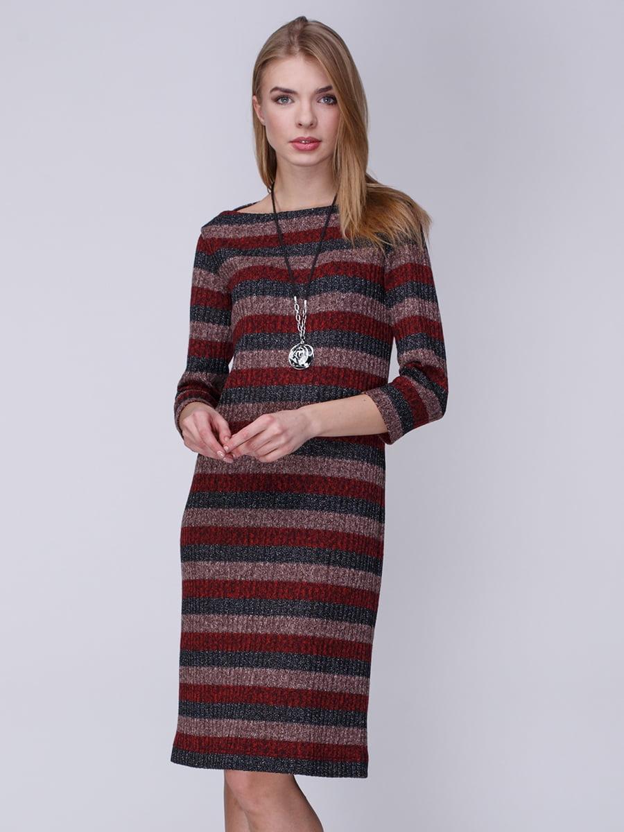 Платье в полоску | 3961654