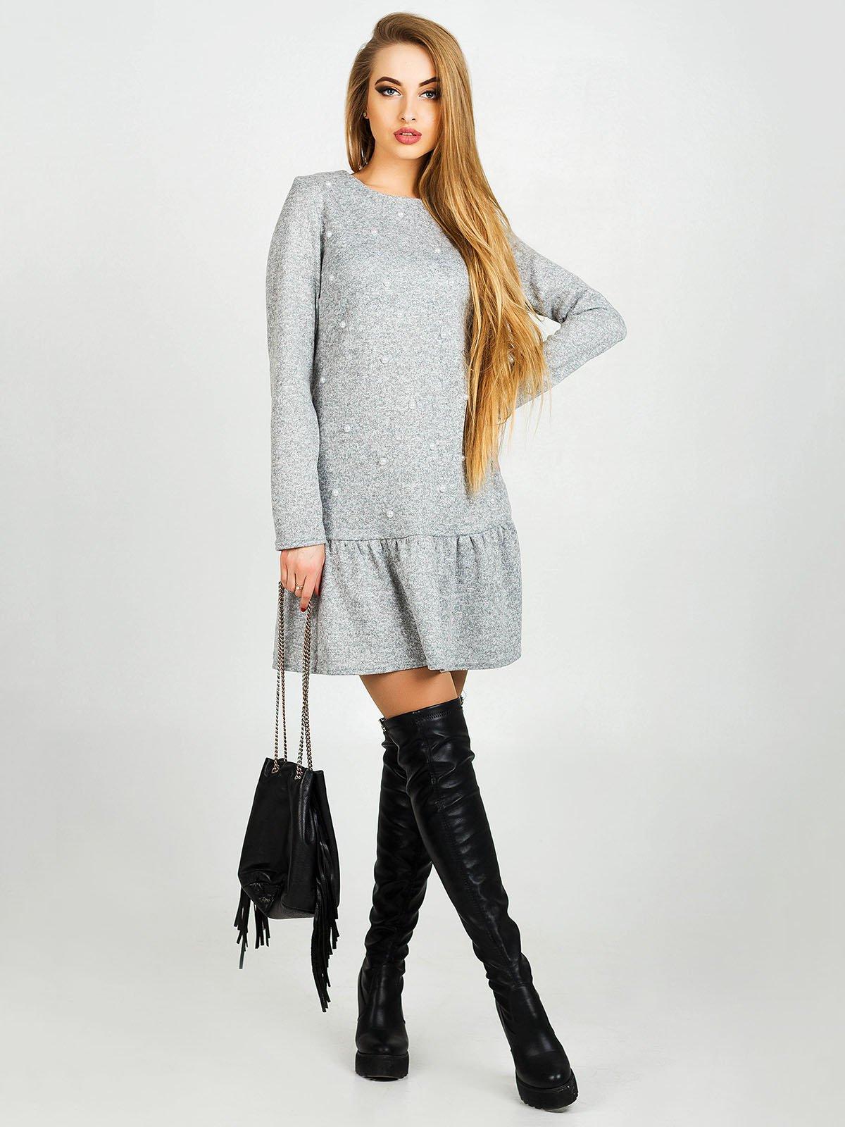 Сукня сіра | 3962119