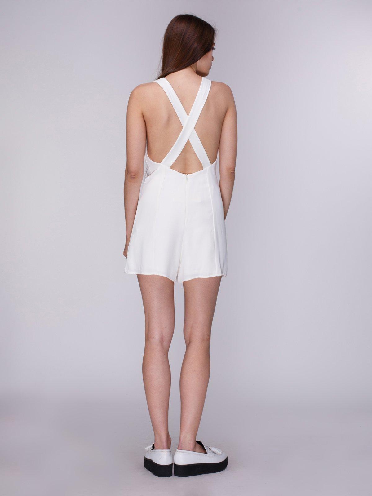 68beaaa3043 Комбинезон белый — Zara