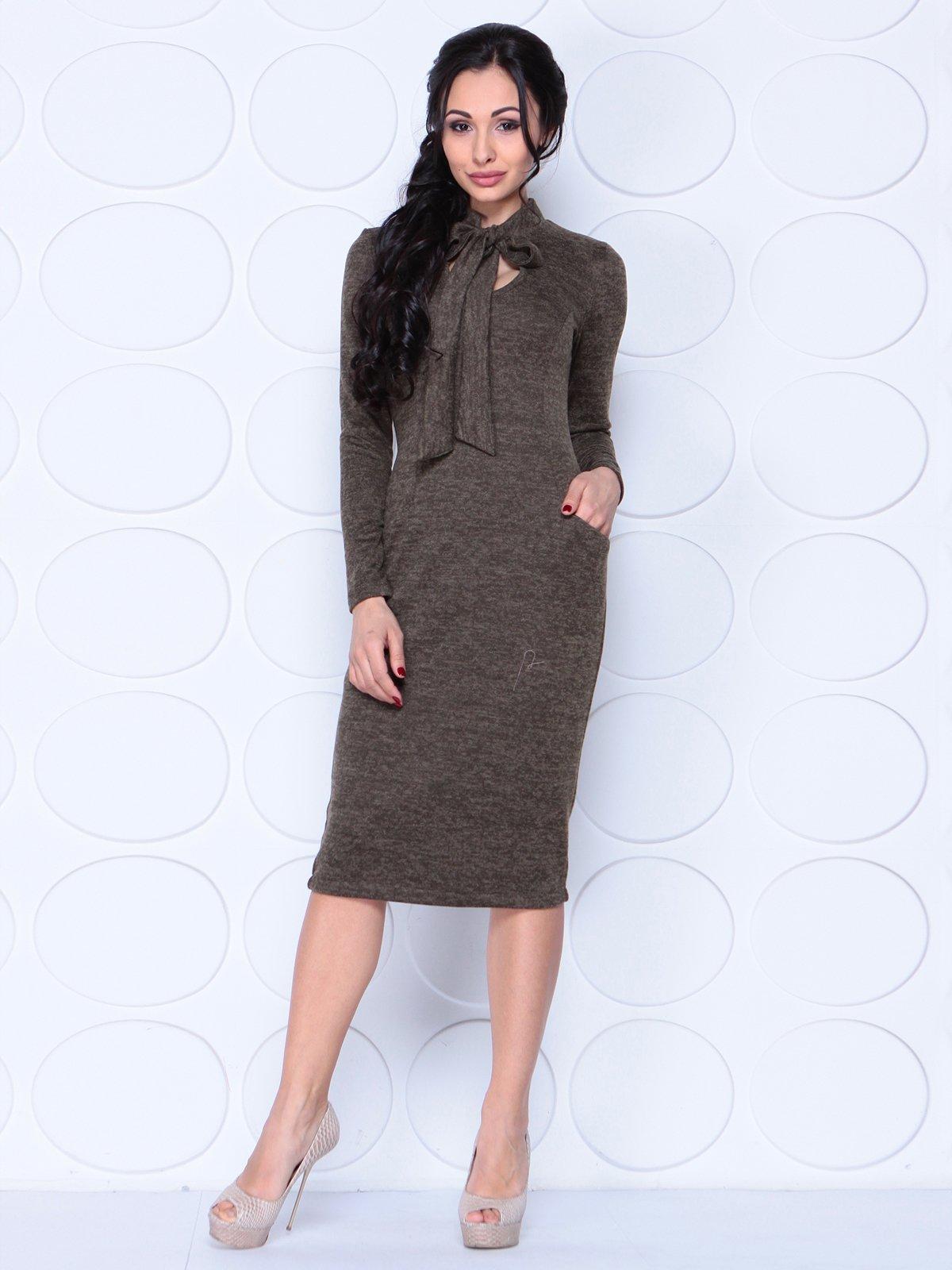 Платье коричневое | 3962331