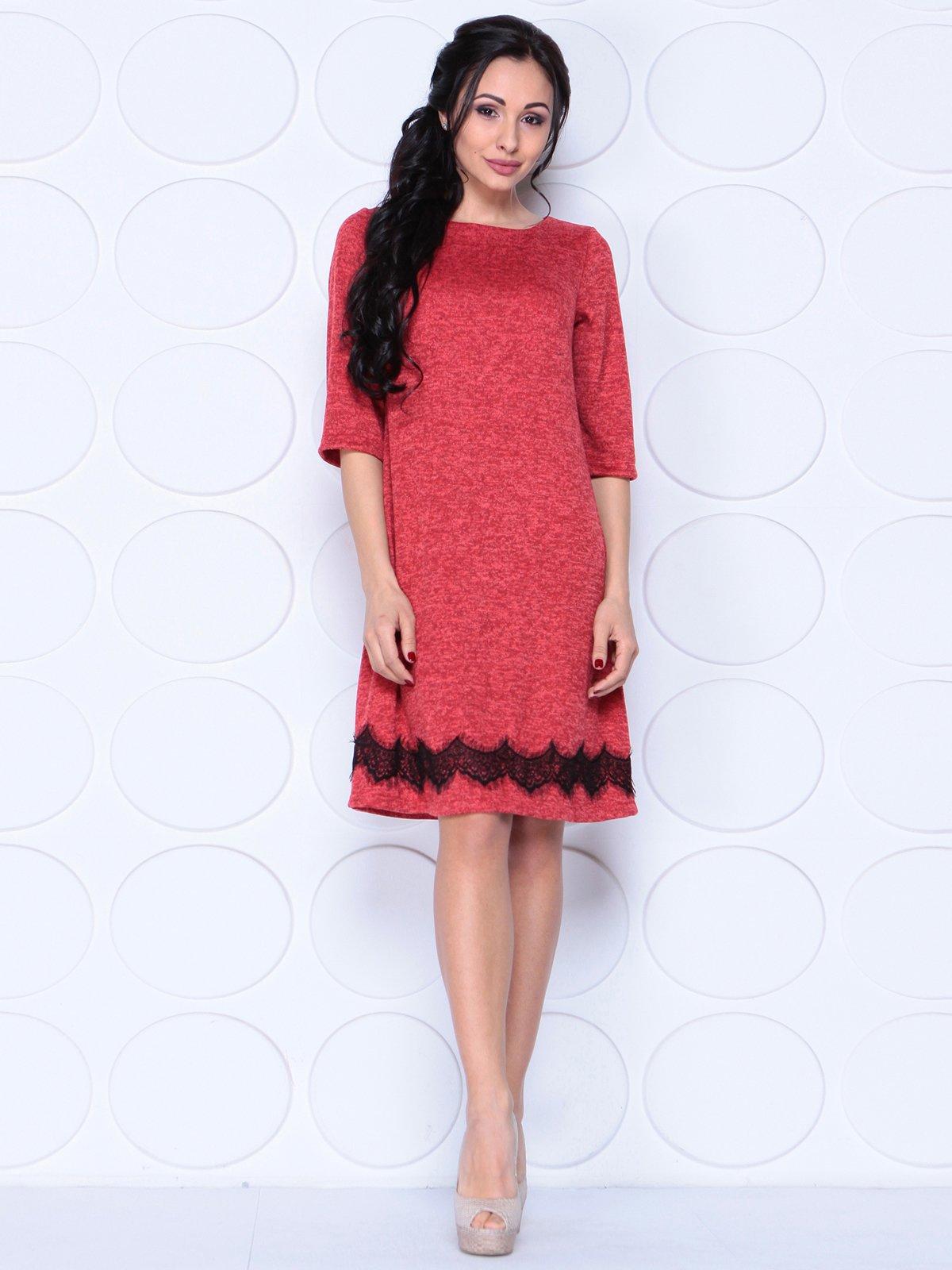 Платье кораллово-красное   3962333