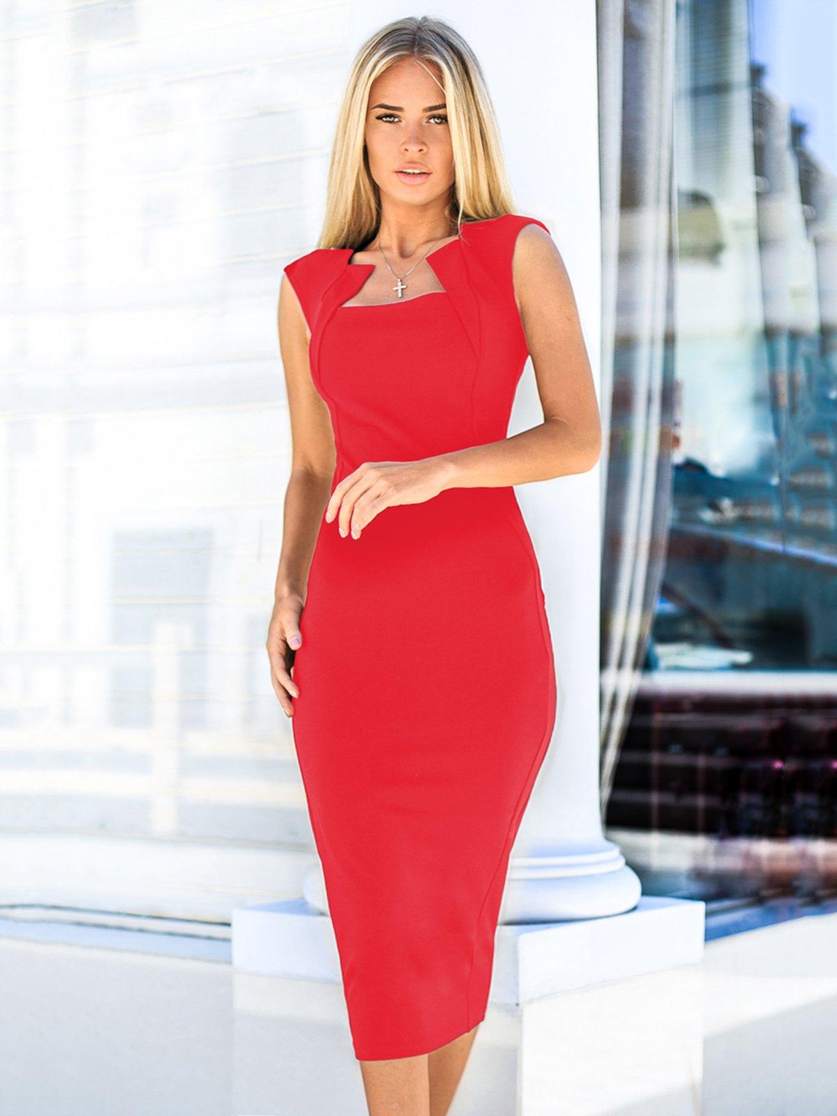 Платье красное   3961443