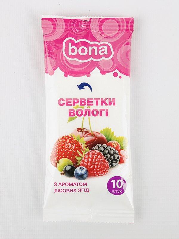 Салфетки влажные с ароматом лесных ягод (10 шт.)   3919895