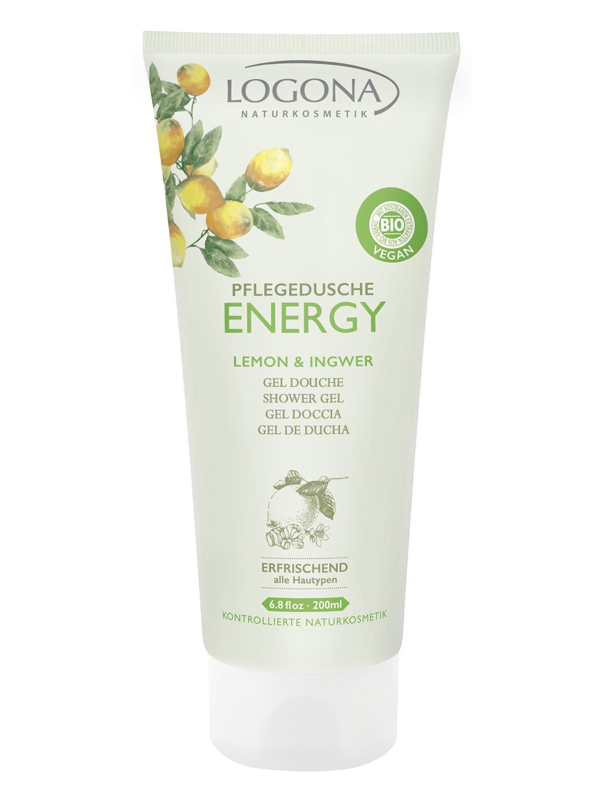 Біо-Гель для душу Energy «Лимон та імбир» (200 мл) | 3967156