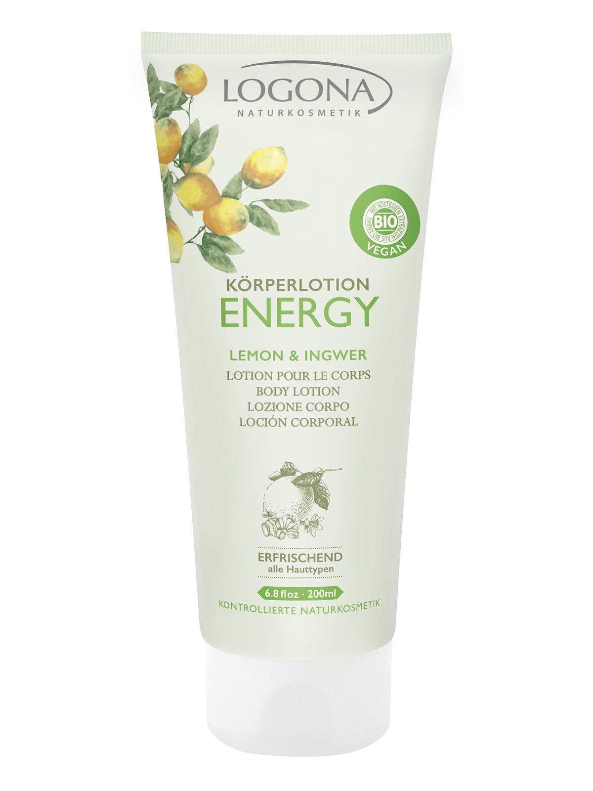 Біо-Лосьйон для тіла Energy «Лимон та імбир» (200 мл) | 3967157