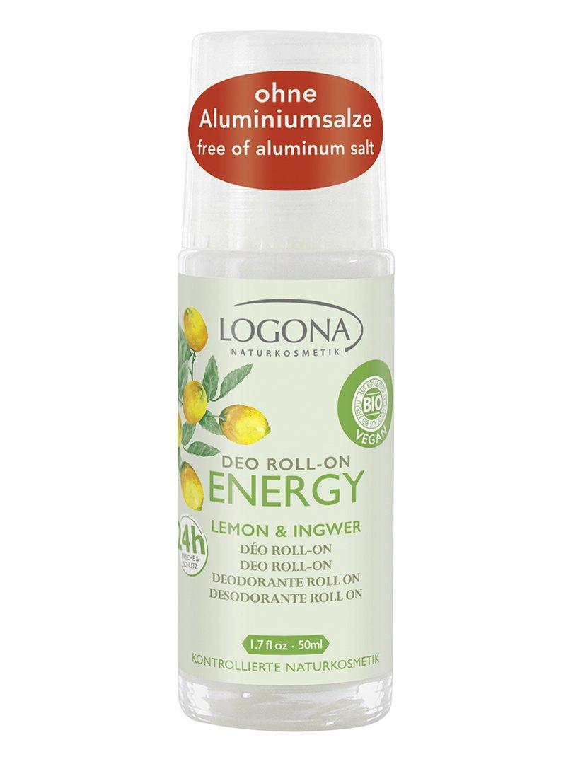 Біо-Дезодорант роликовий Energy «Лимон та імбир» (50 мл) | 3967158
