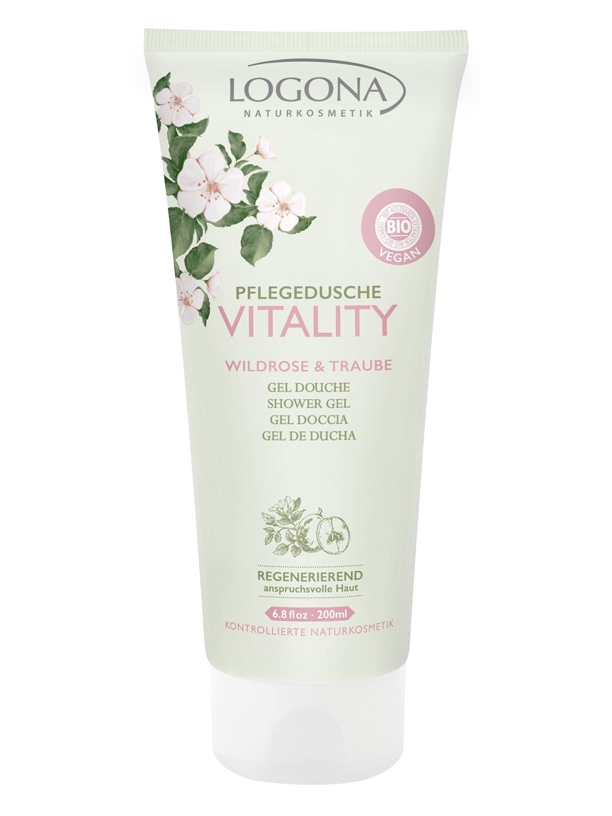 Біо-Гель для душу Vitality «Троянди і виноград» (200 мл)   3967161