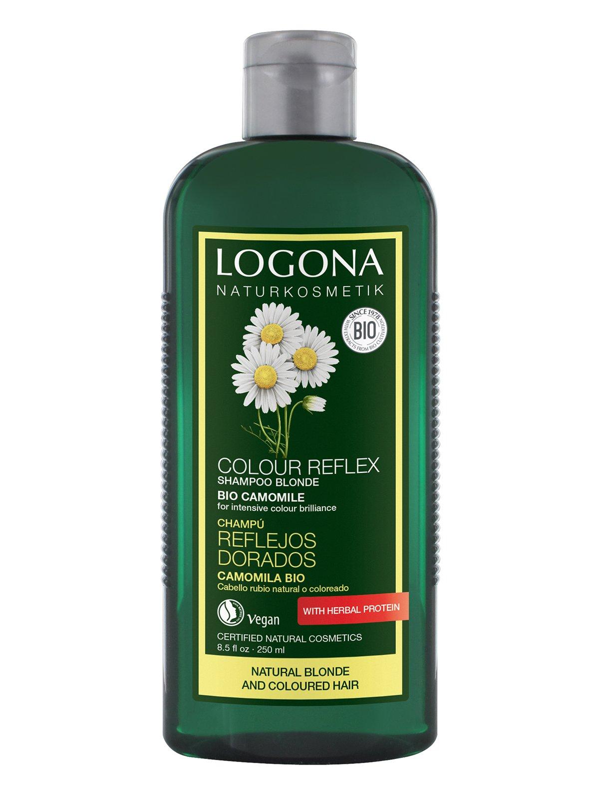 Біо-Шампунь для фарбованого світлого волосся «Ромашка» (250 мл) | 3967174