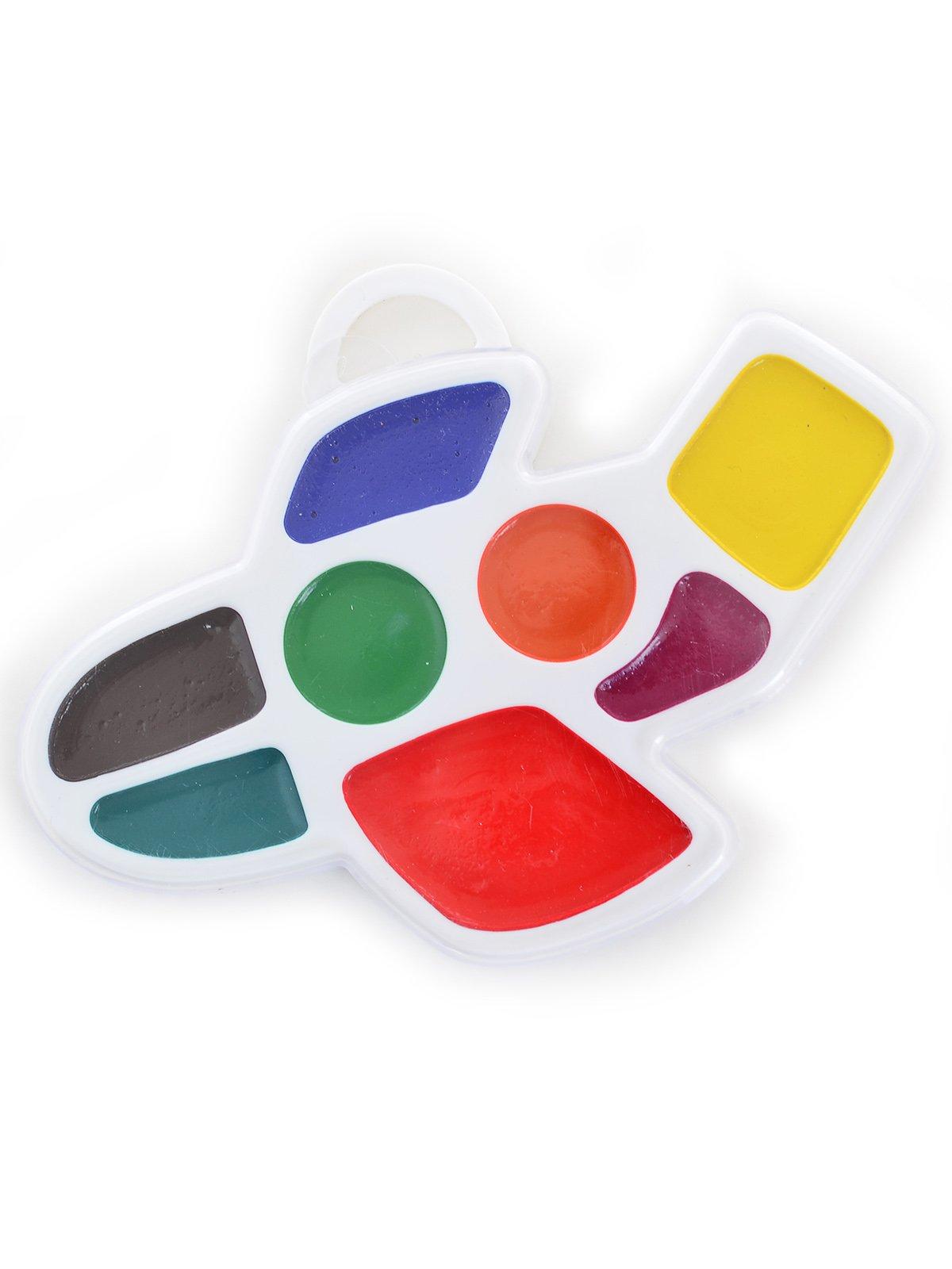Фарби акварельні «Літачок» (8 кольорів) | 3906623