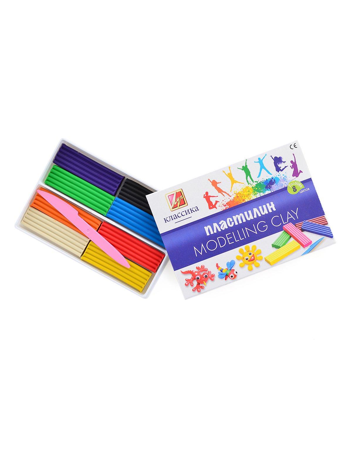 Пластилін «Класика» (8 кольорів) | 3906676