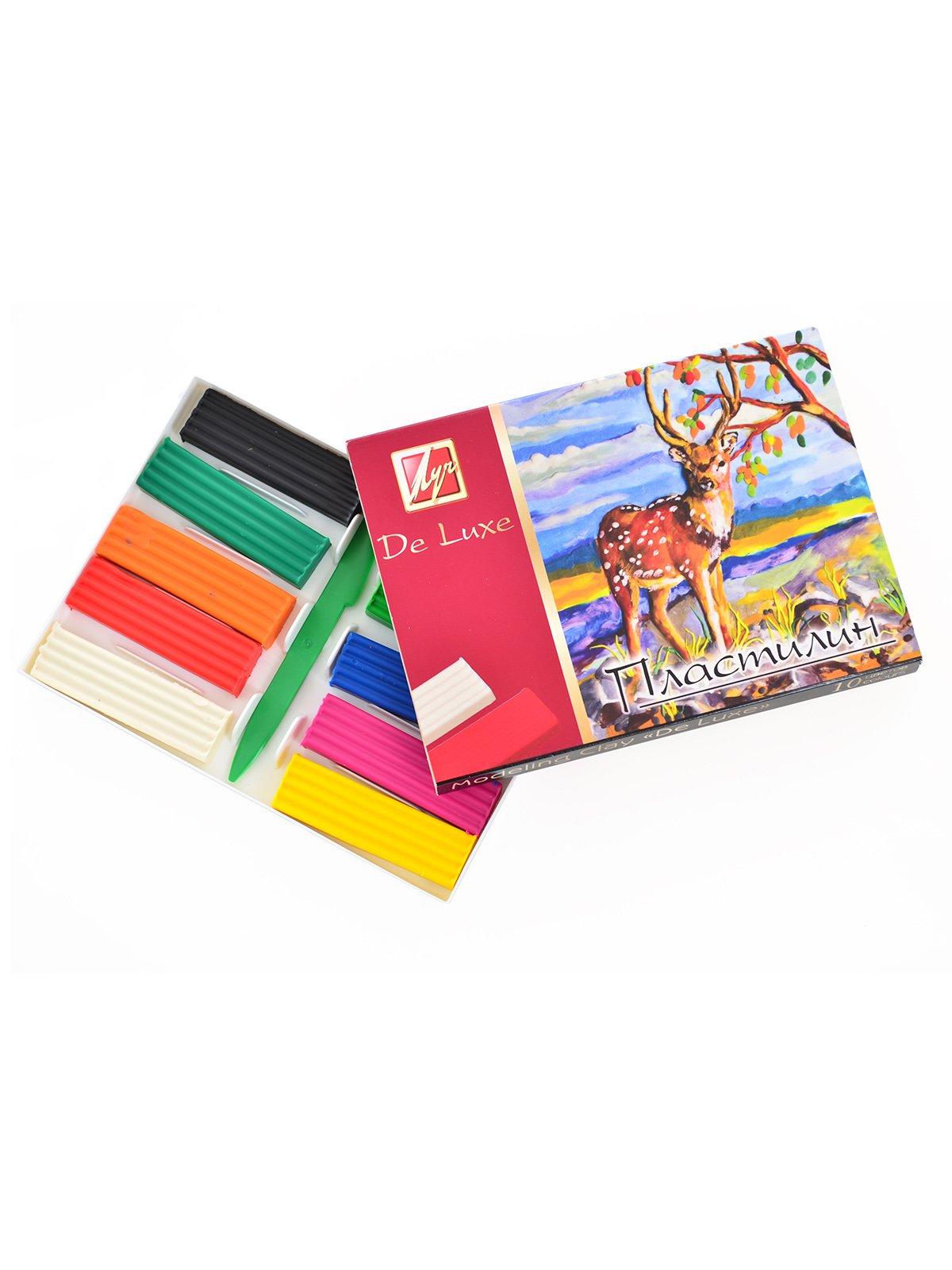 Пластилін «Люкс» (10 кольорів) | 3906681
