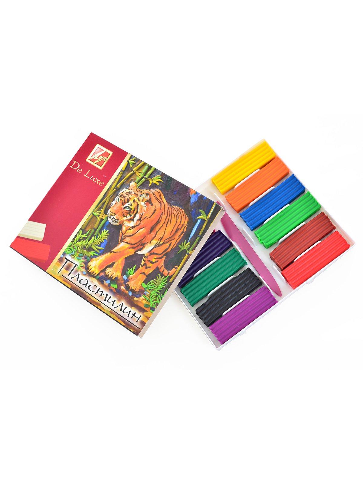 Пластилін «Люкс» (12 кольорів) | 3906682