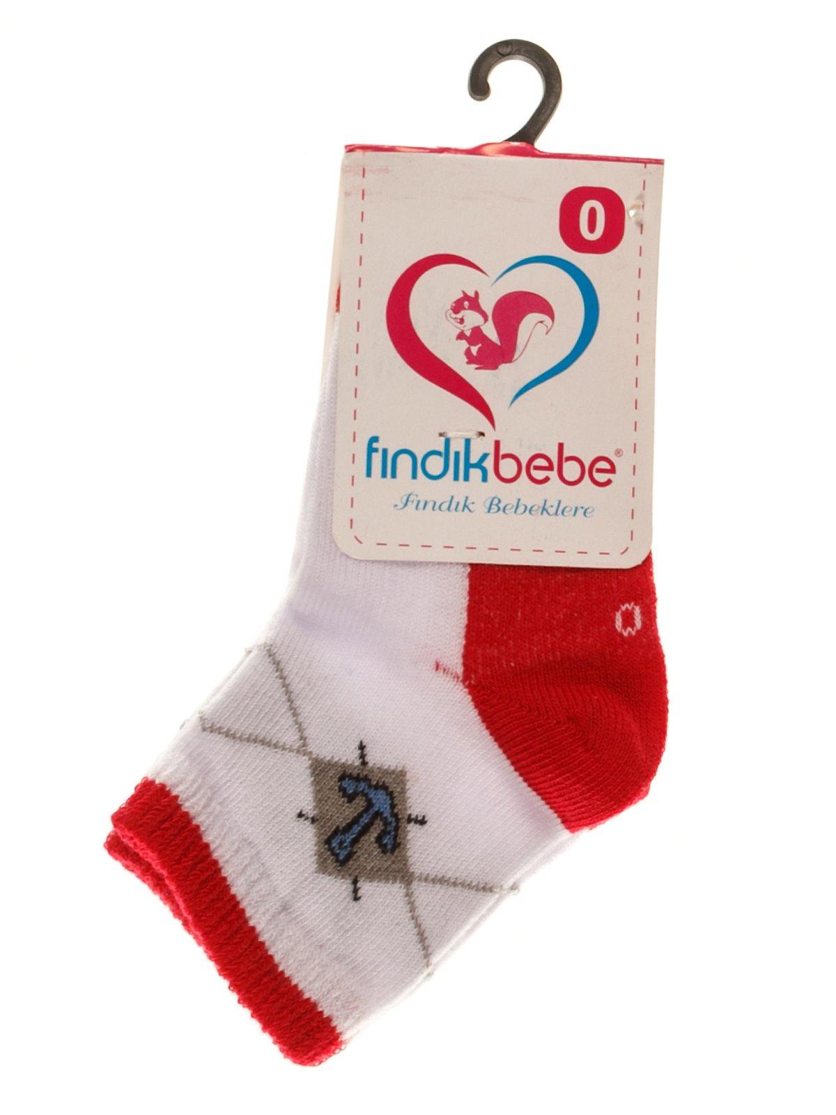 Шкарпетки червоні | 3877586