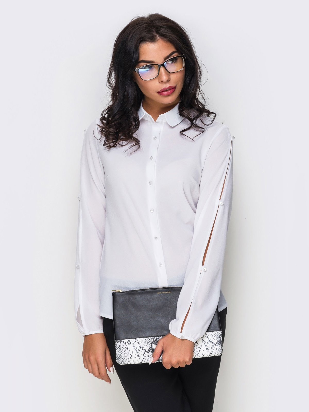 Рубашка белая | 3969973