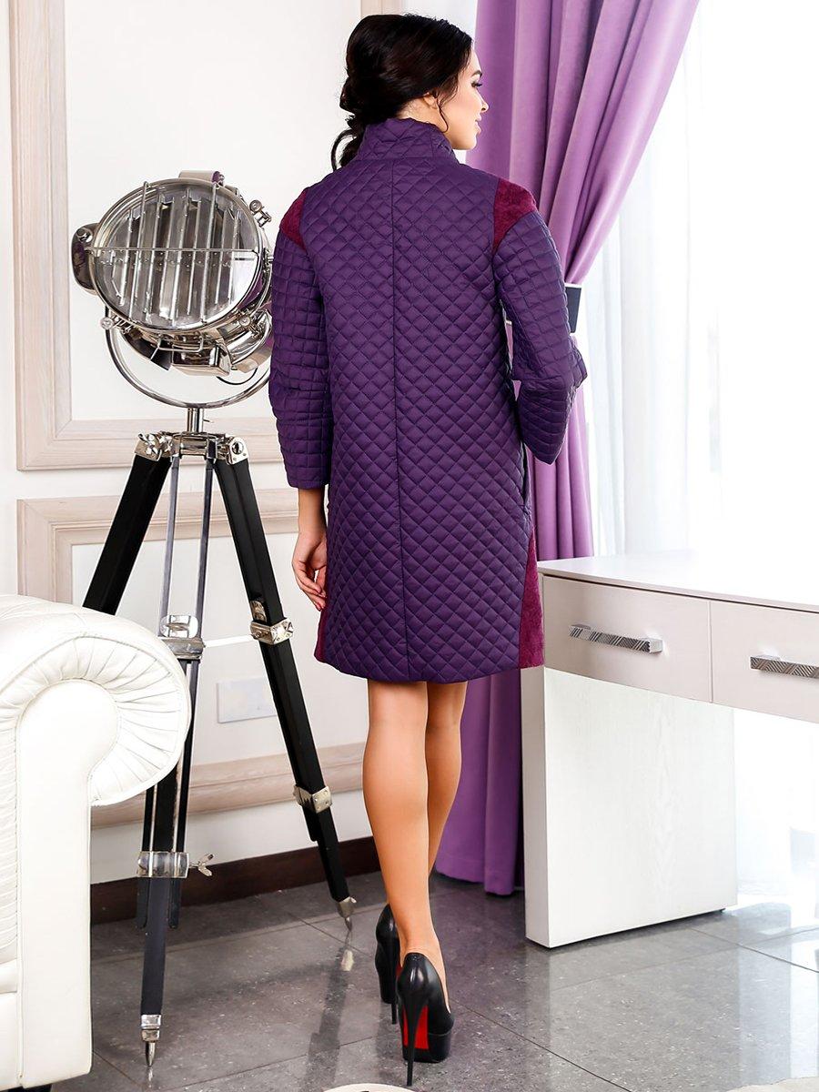 Пальто фиолетовое | 3974715 | фото 2