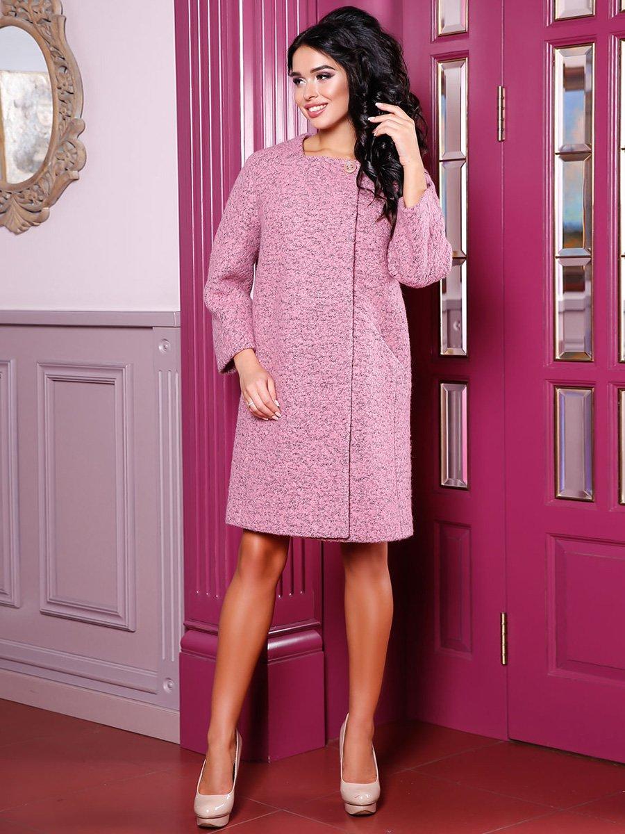 Пальто розовое | 3974725