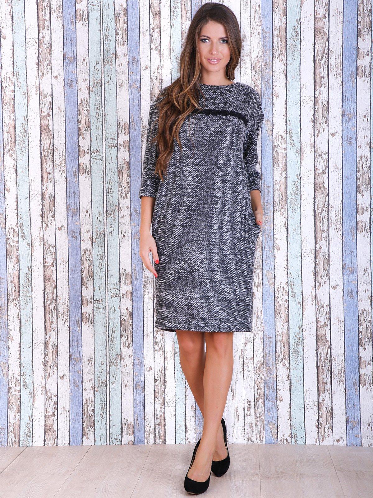 Платье серое | 3961665