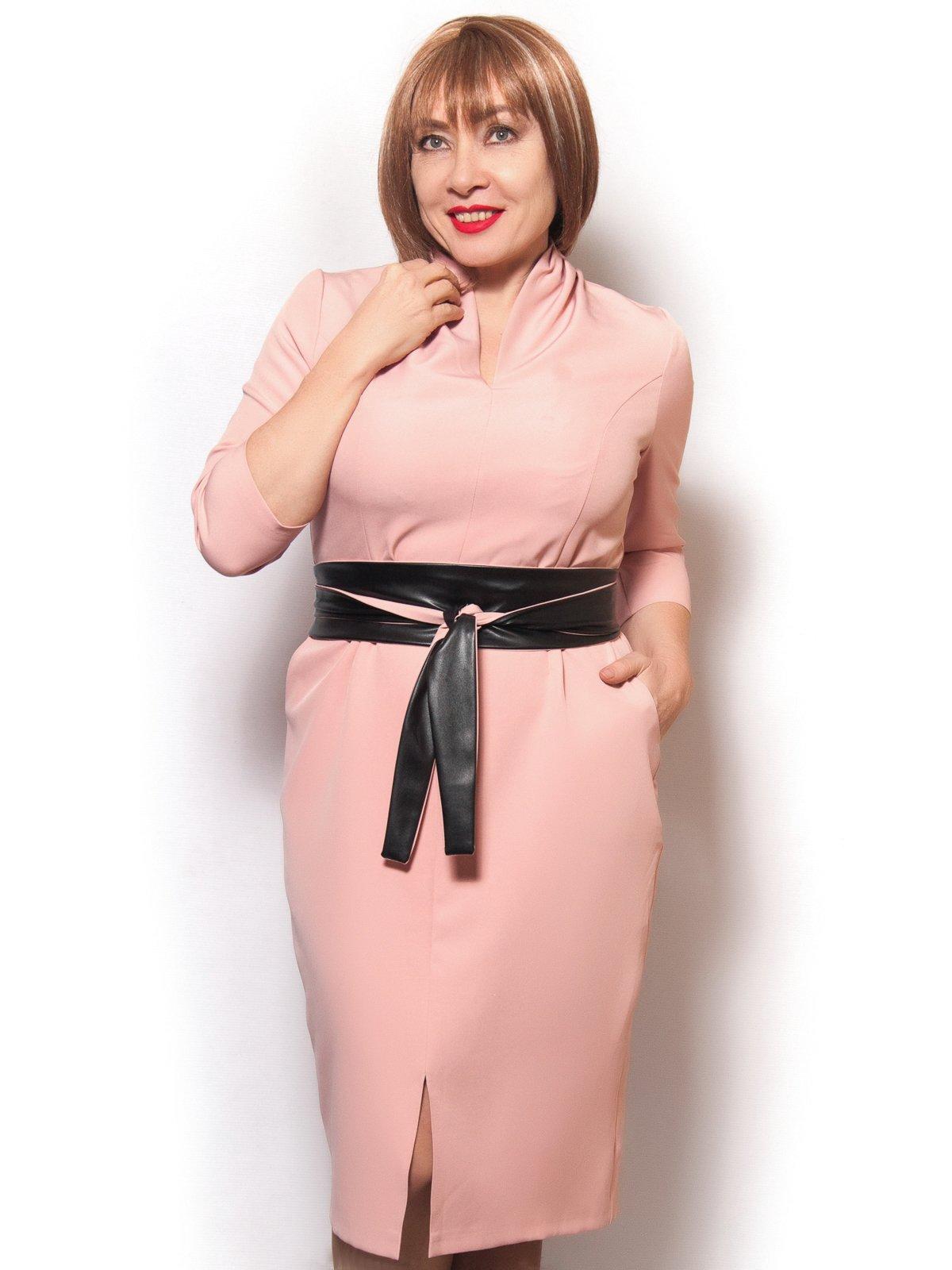 Платье розовое | 3978829