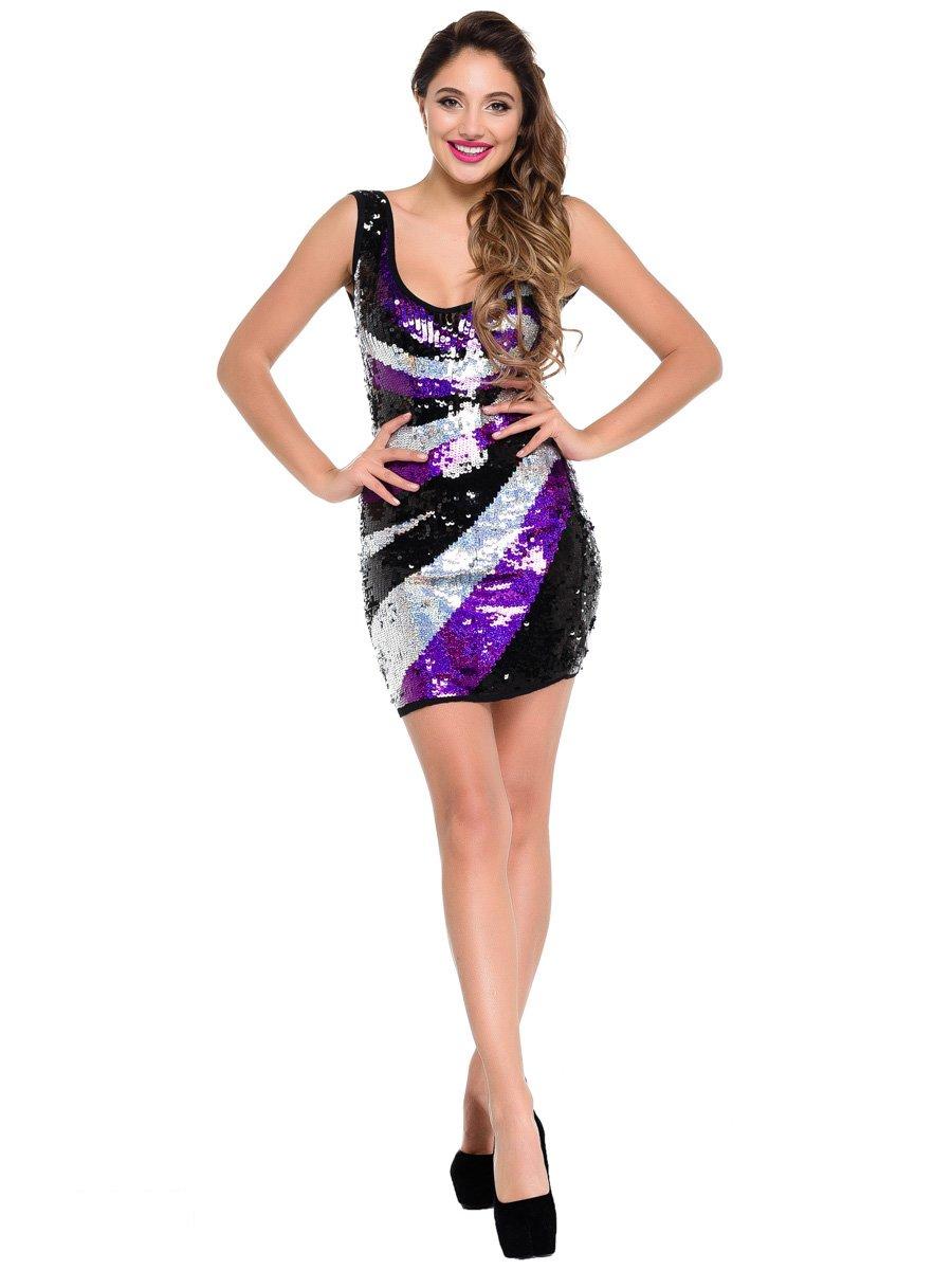 Платье трехцветное | 3977473